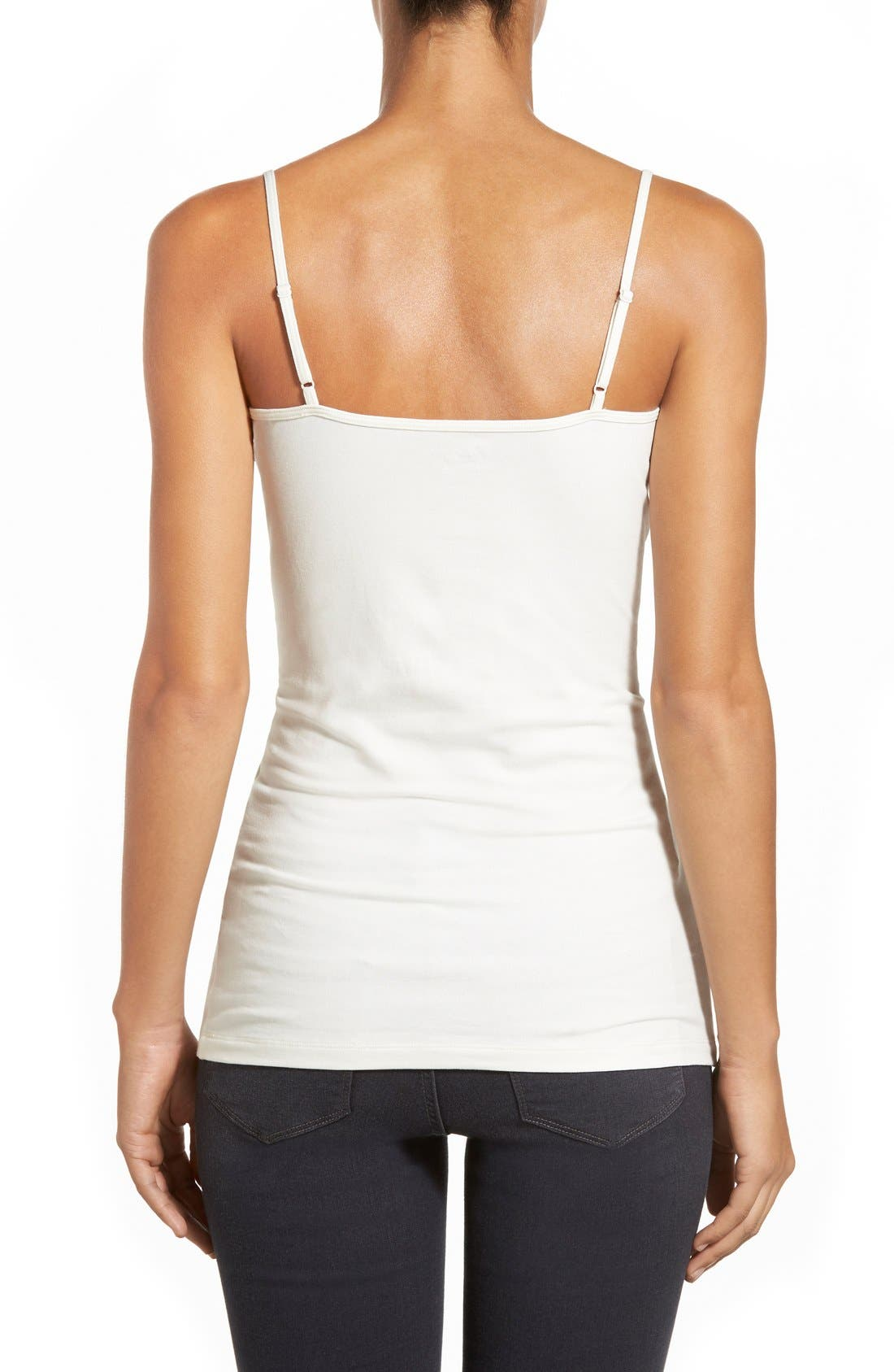 'Absolute' Camisole,                             Alternate thumbnail 3, color,                             IVORY EGRET