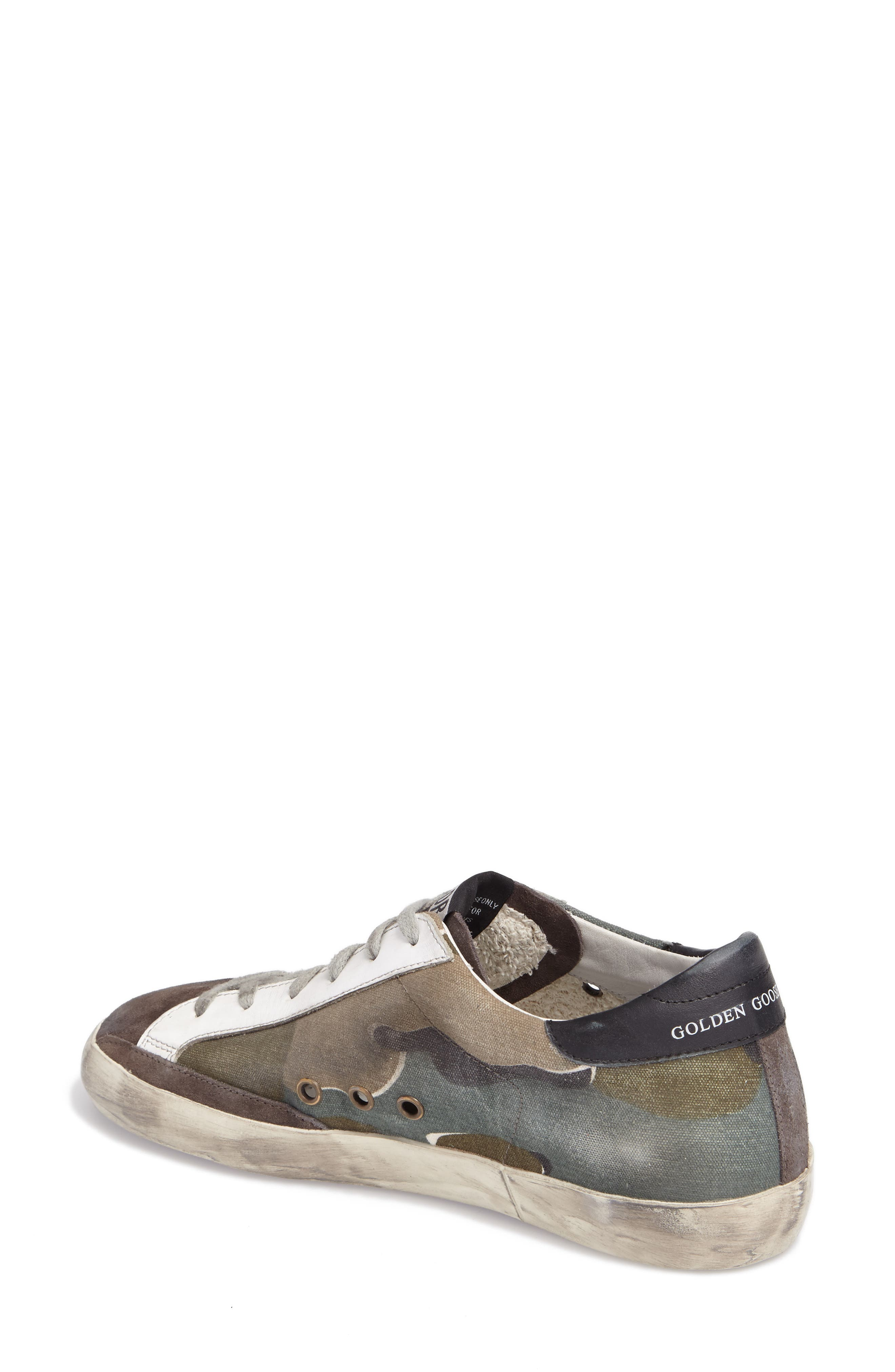 GOLDEN GOOSE,                             Superstar Low Top Sneaker,                             Alternate thumbnail 2, color,                             020