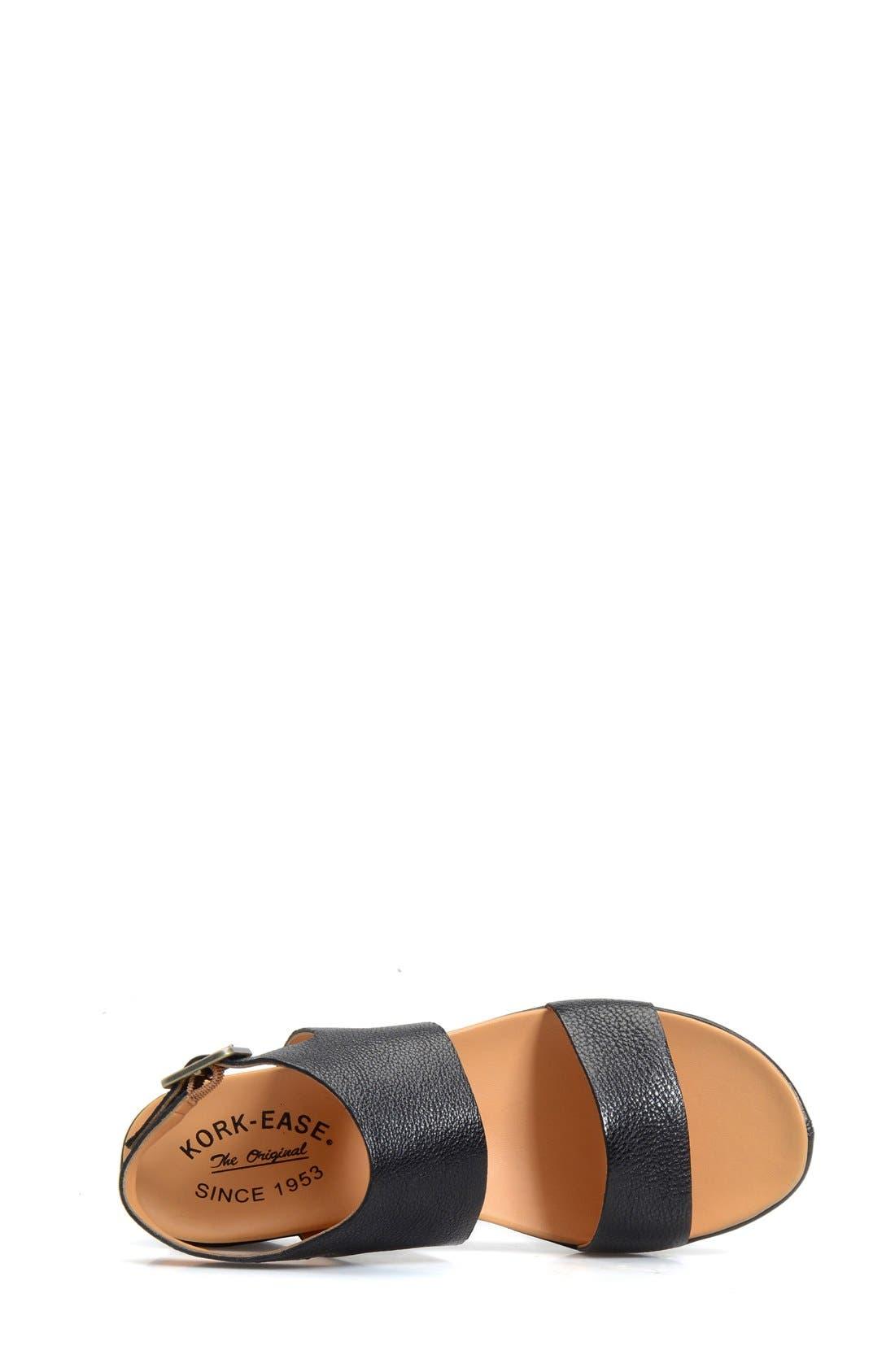 'Khloe' Platform Wedge Sandal,                             Alternate thumbnail 11, color,