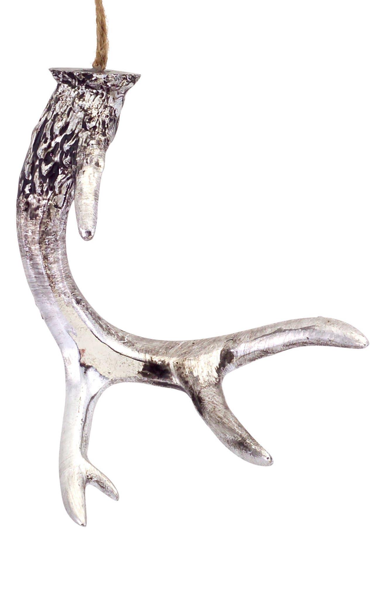 Deer Antler Ornament,                         Main,                         color, 040