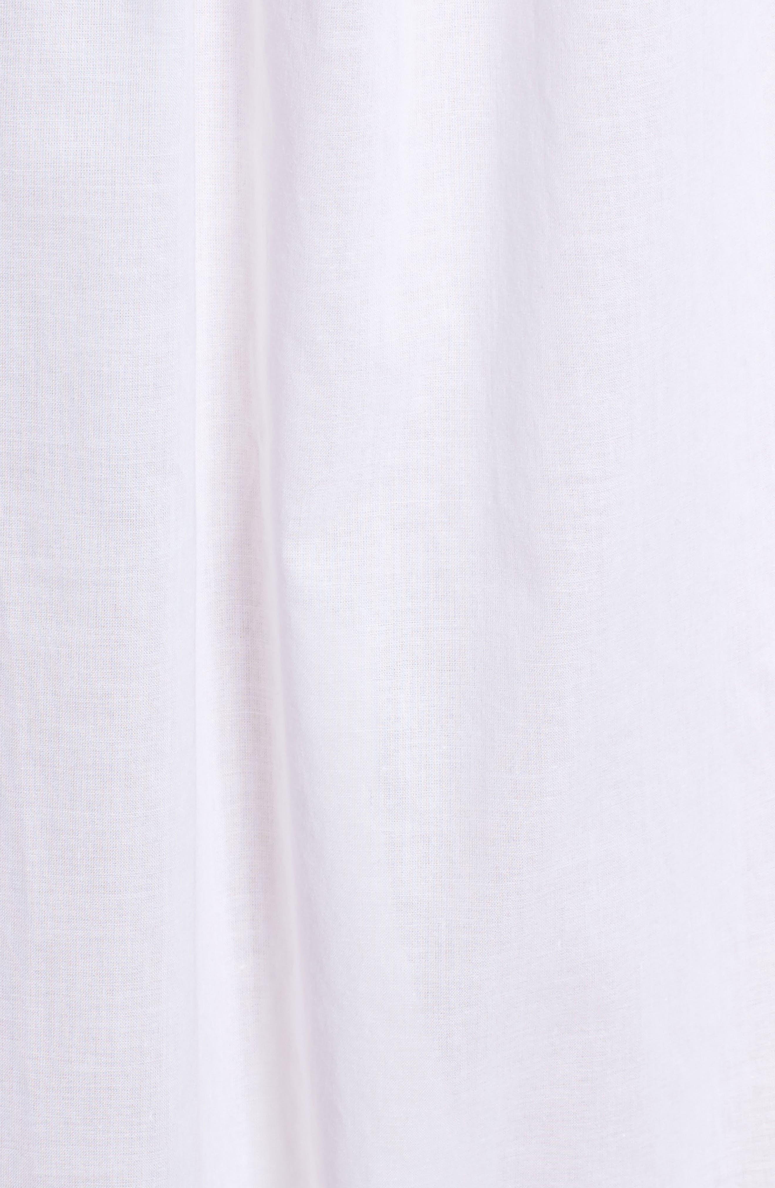 Cotton Lawn Ballet Nightgown,                             Alternate thumbnail 5, color,                             100