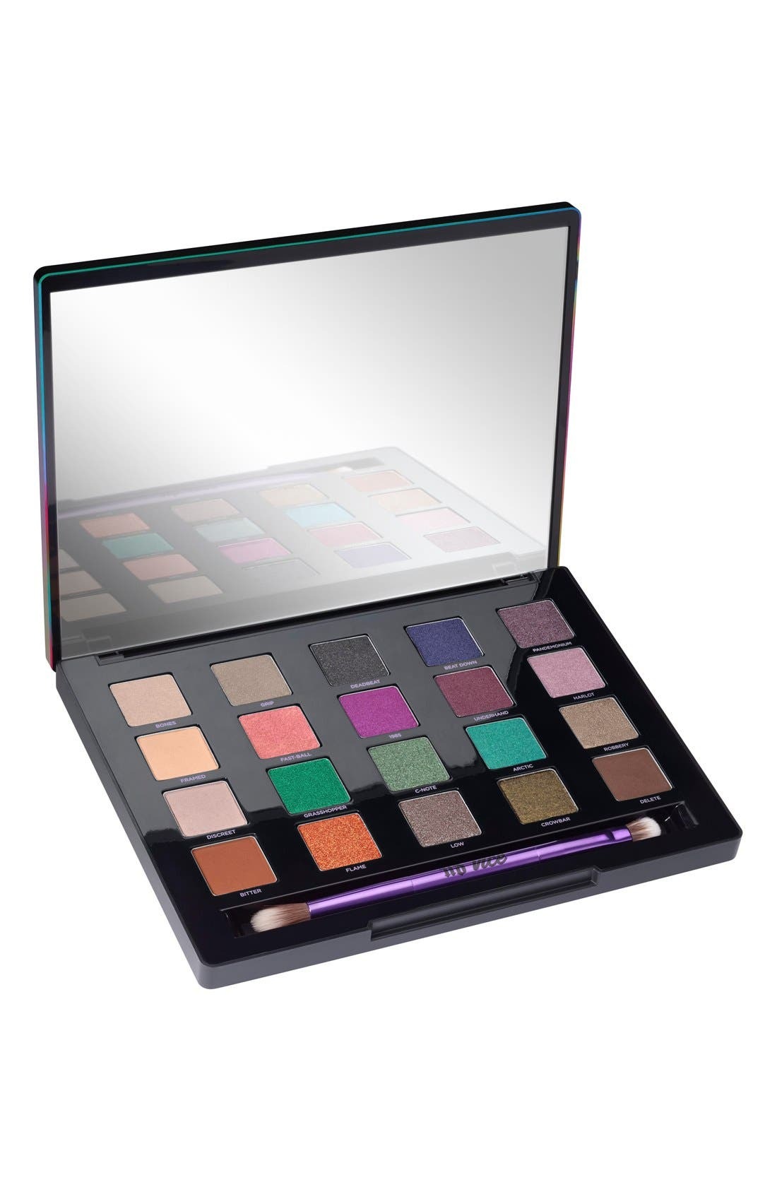 'Vice4' Eyeshadow Palette, Main, color, 000