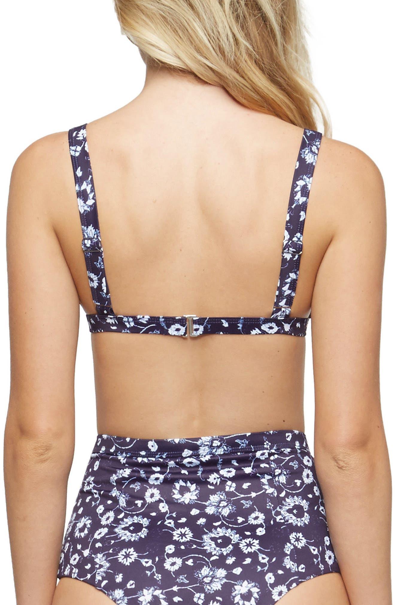 Addison Triangle Bikini Top,                             Alternate thumbnail 2, color,