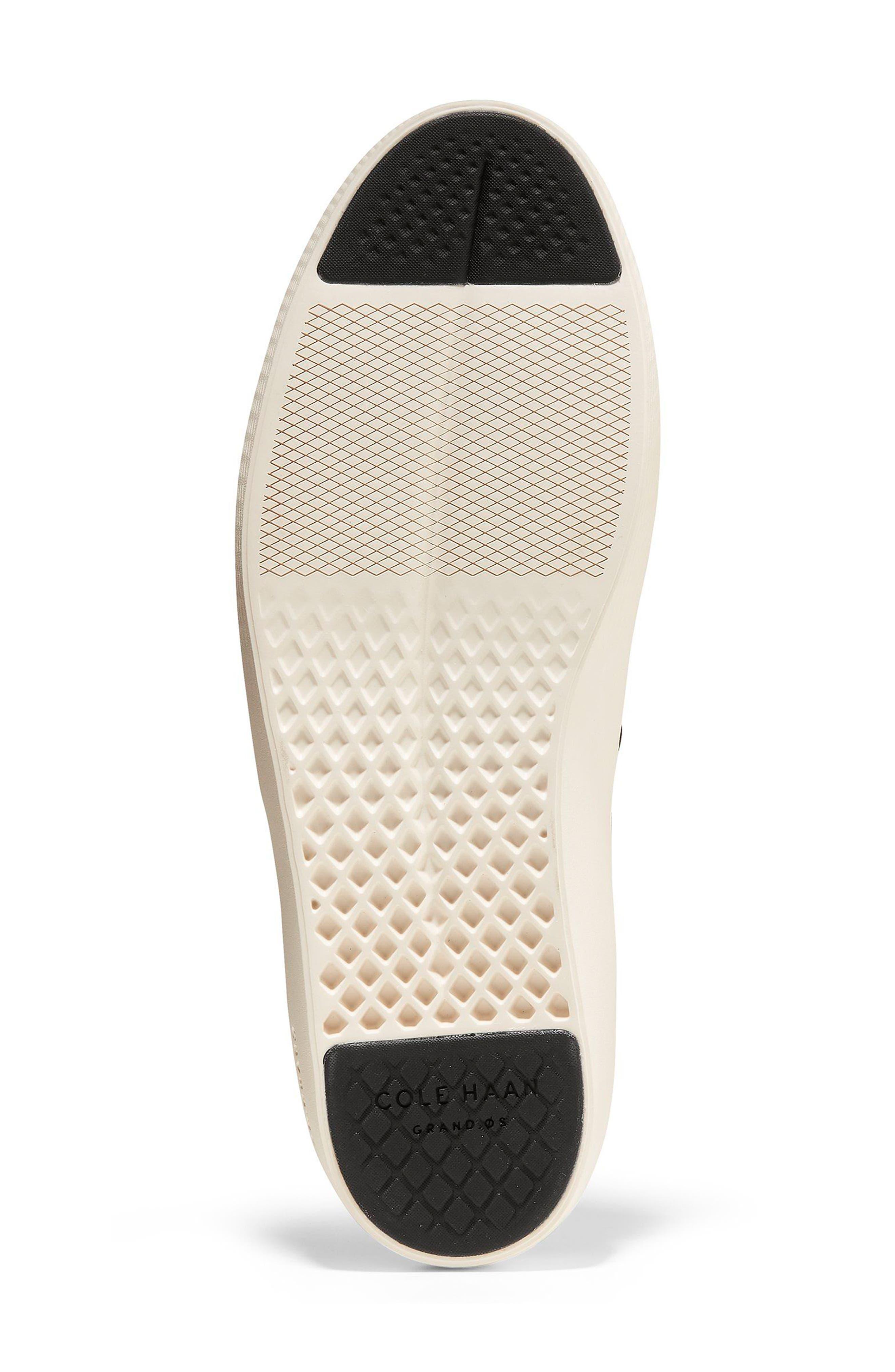GrandPro Deck Low Top Sneaker,                             Alternate thumbnail 6, color,                             001