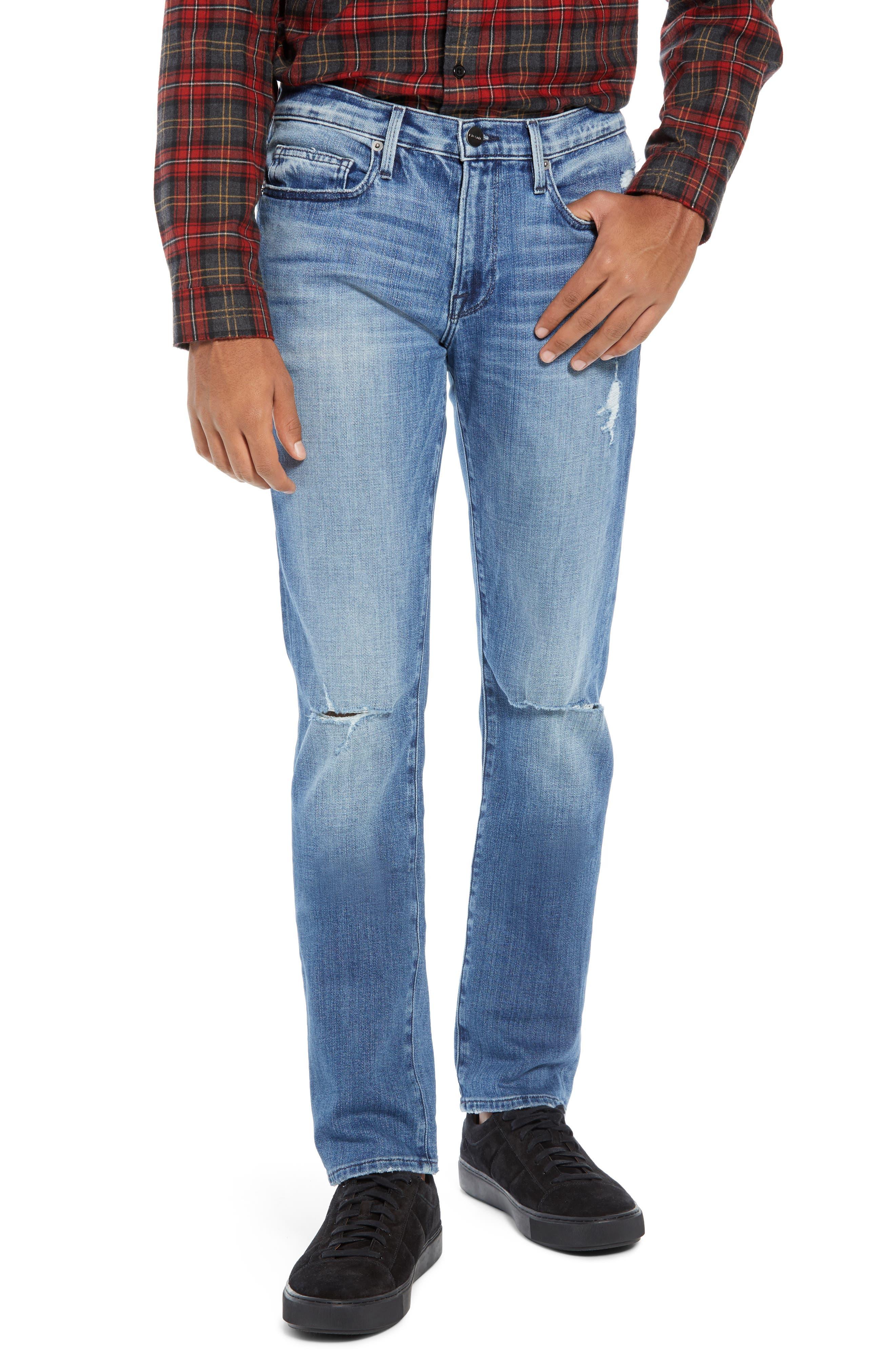 L'Homme Slim Fit Jeans,                             Main thumbnail 1, color,                             ARCHES