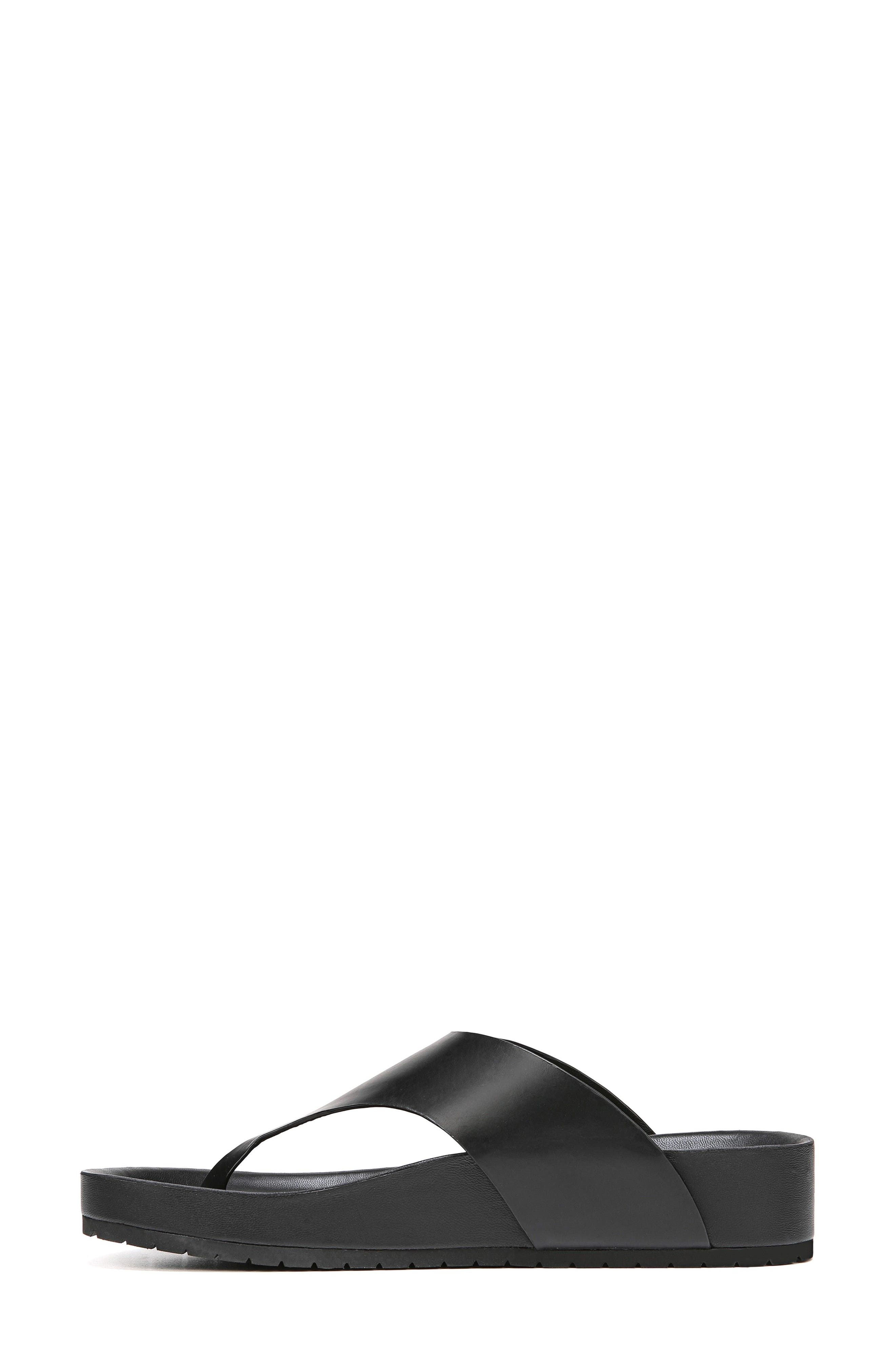 Padma Platform Sandal,                             Alternate thumbnail 7, color,                             BLACK