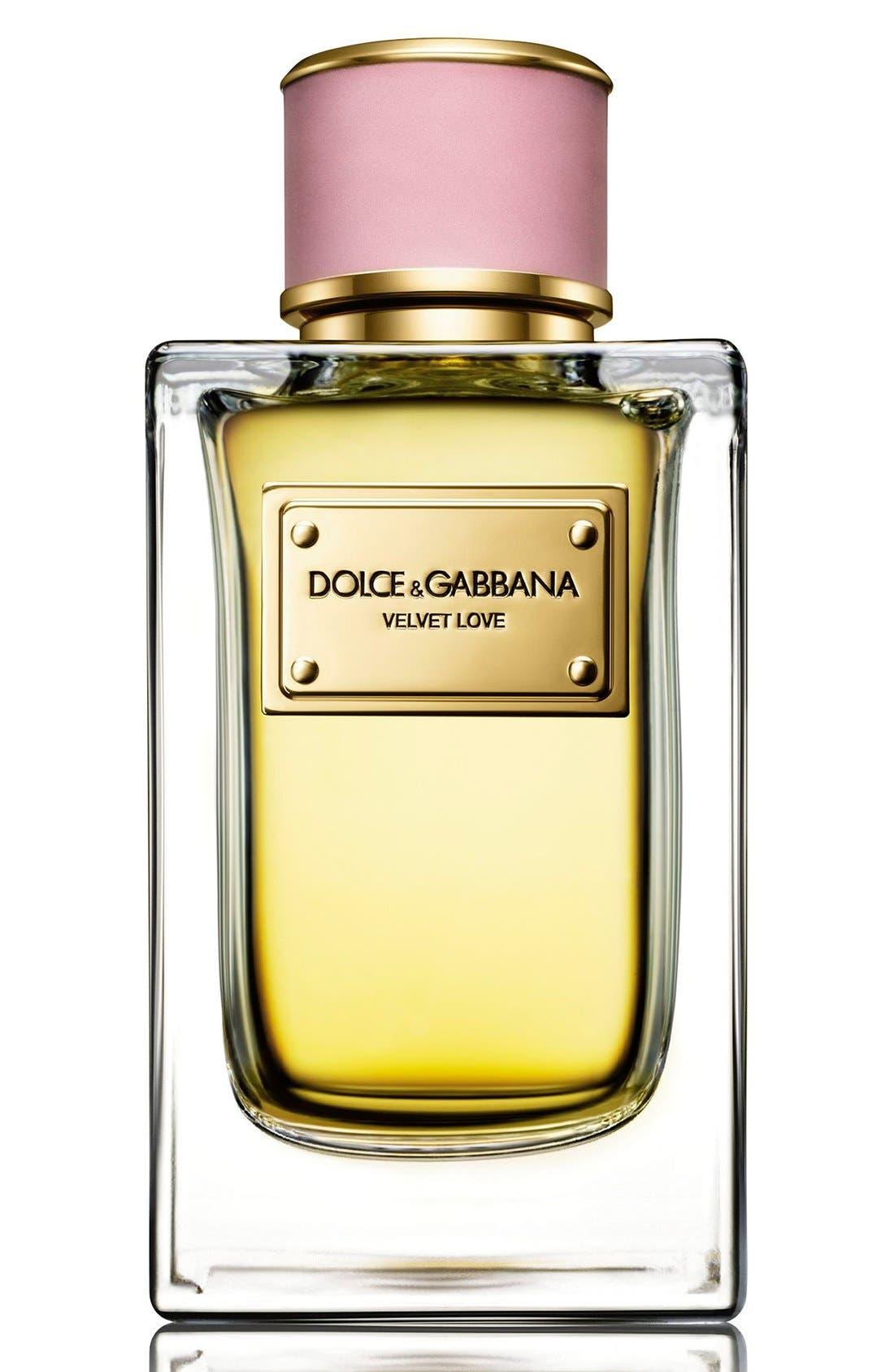 Dolce&GabbanaBeauty 'Velvet Love' Eau de Parfum,                             Alternate thumbnail 3, color,                             NO COLOR