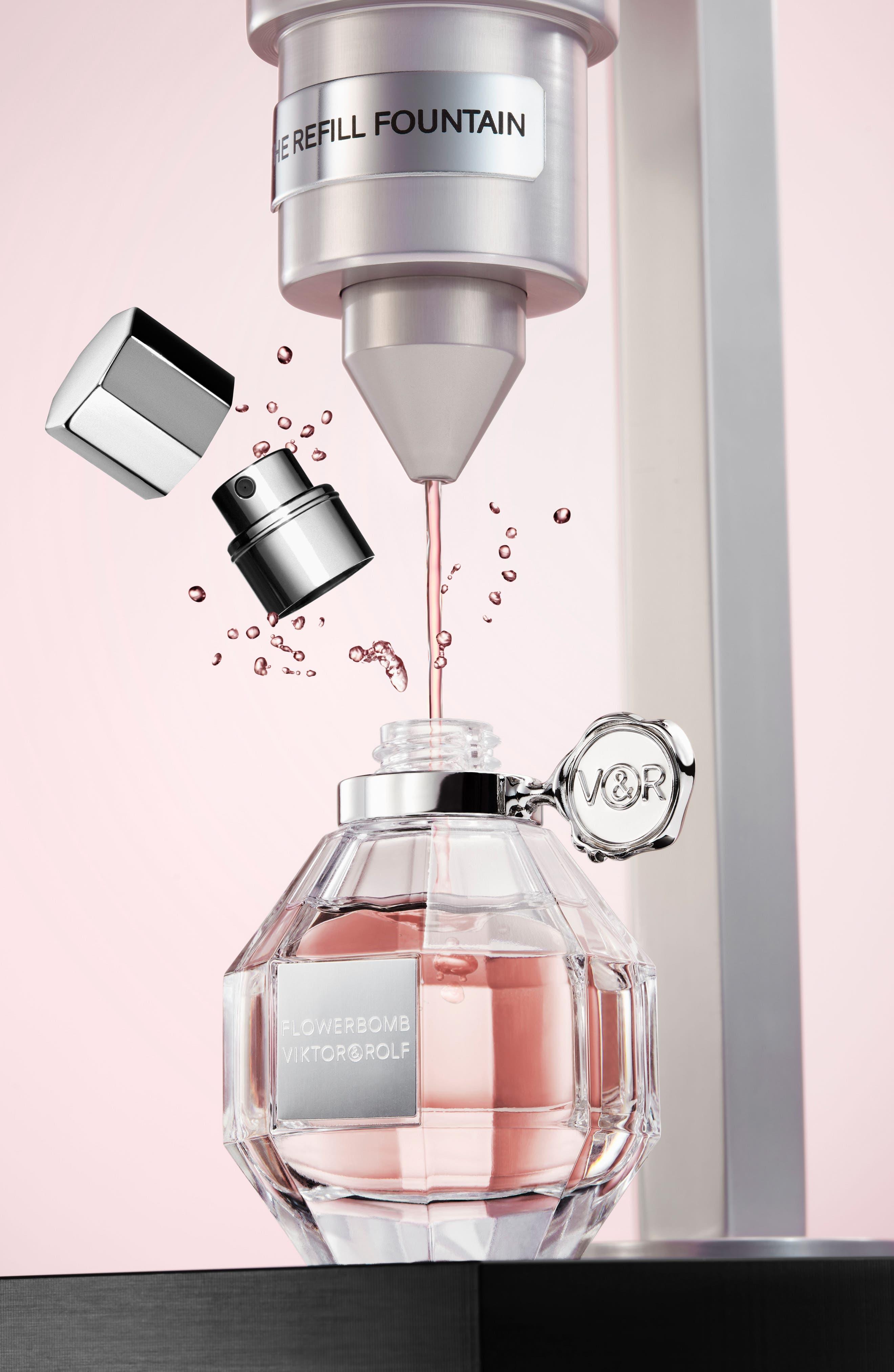 Flowerbomb Refillable Eau de Parfum Spray,                             Alternate thumbnail 8, color,                             NO COLOR