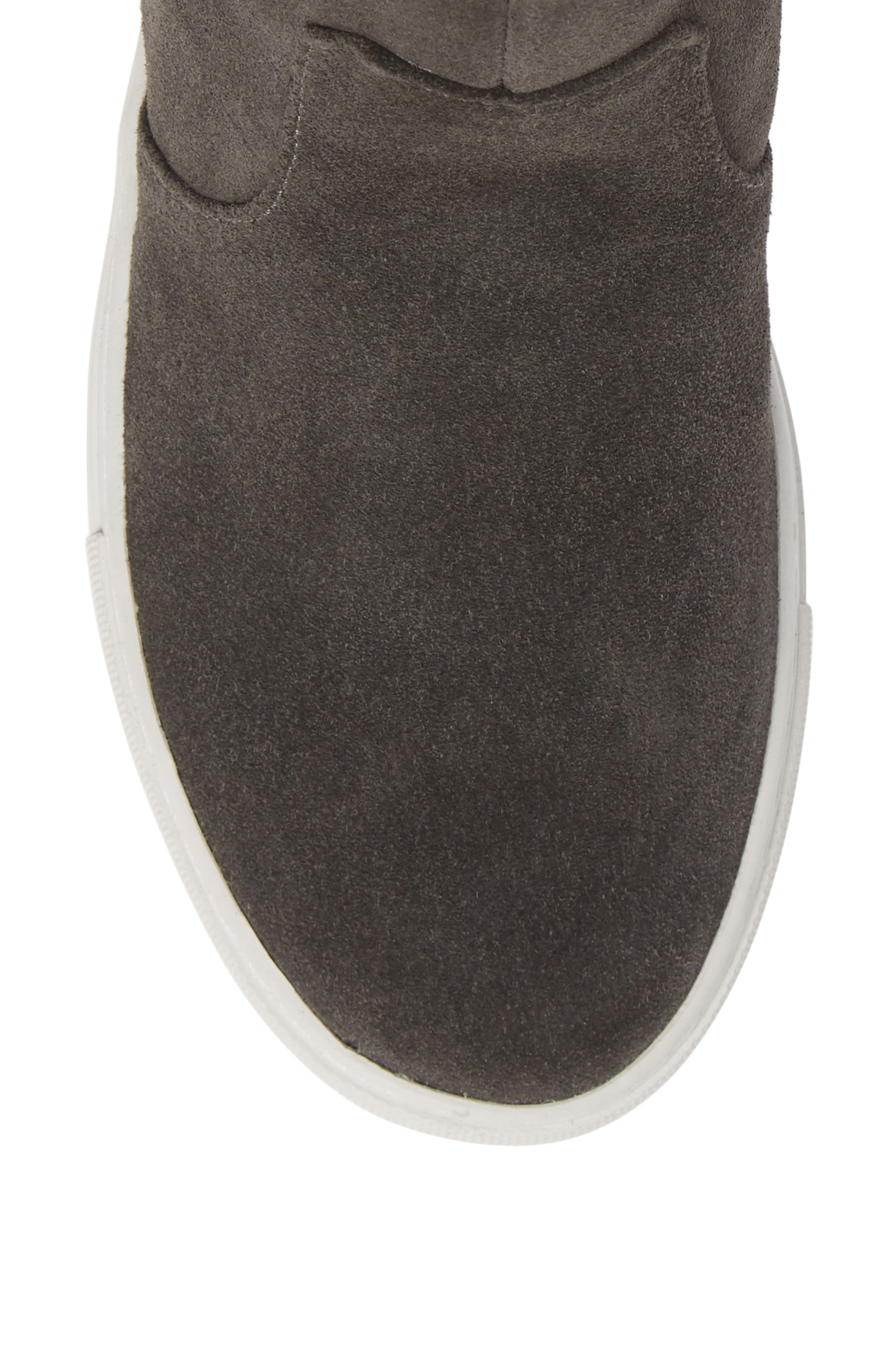 by Kenneth Cole Carter Bootie,                             Alternate thumbnail 5, color,                             GREY SUEDE