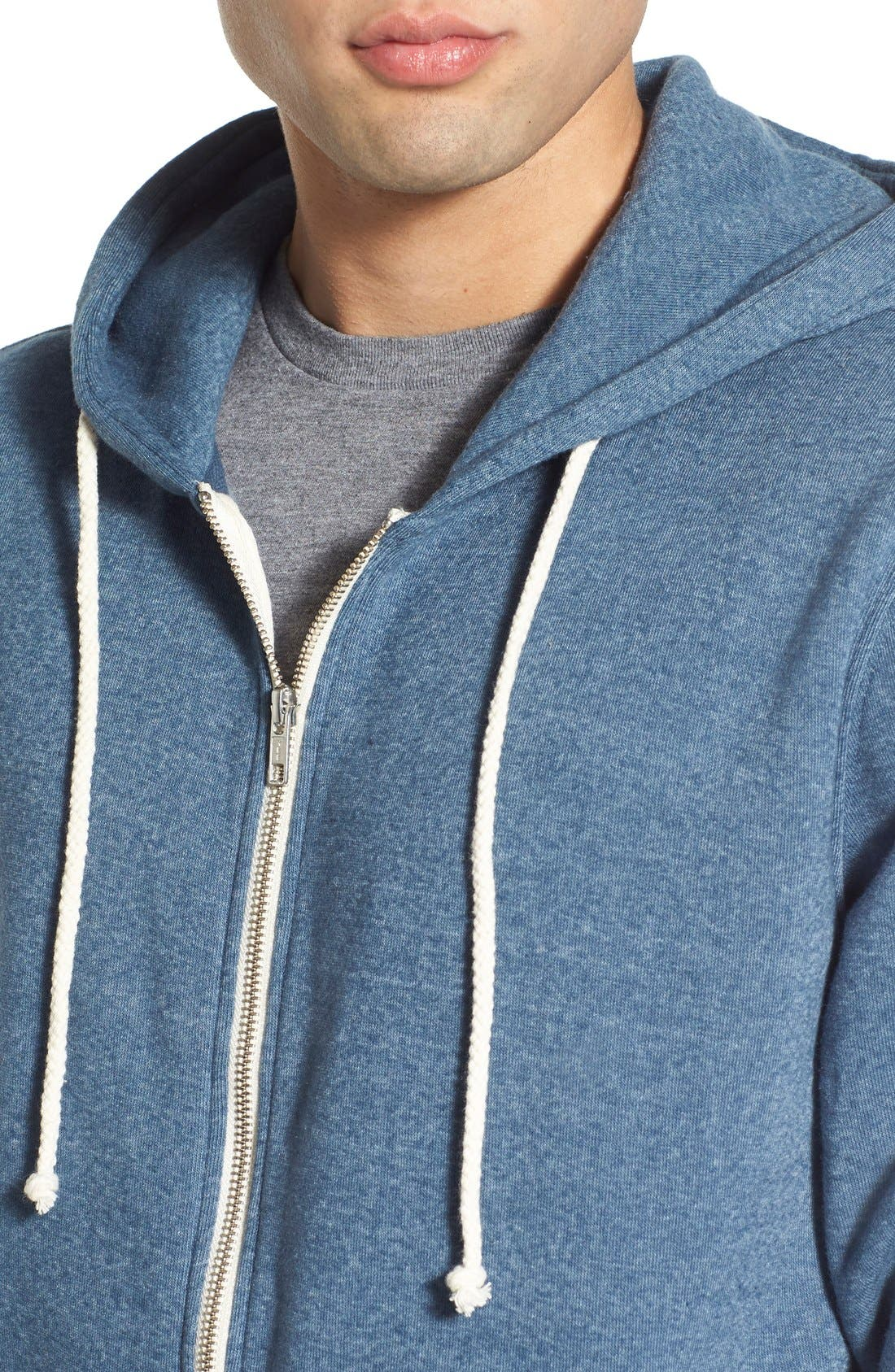Threads for Thought Trim Fit Heathered Hoodie,                             Main thumbnail 25, color,