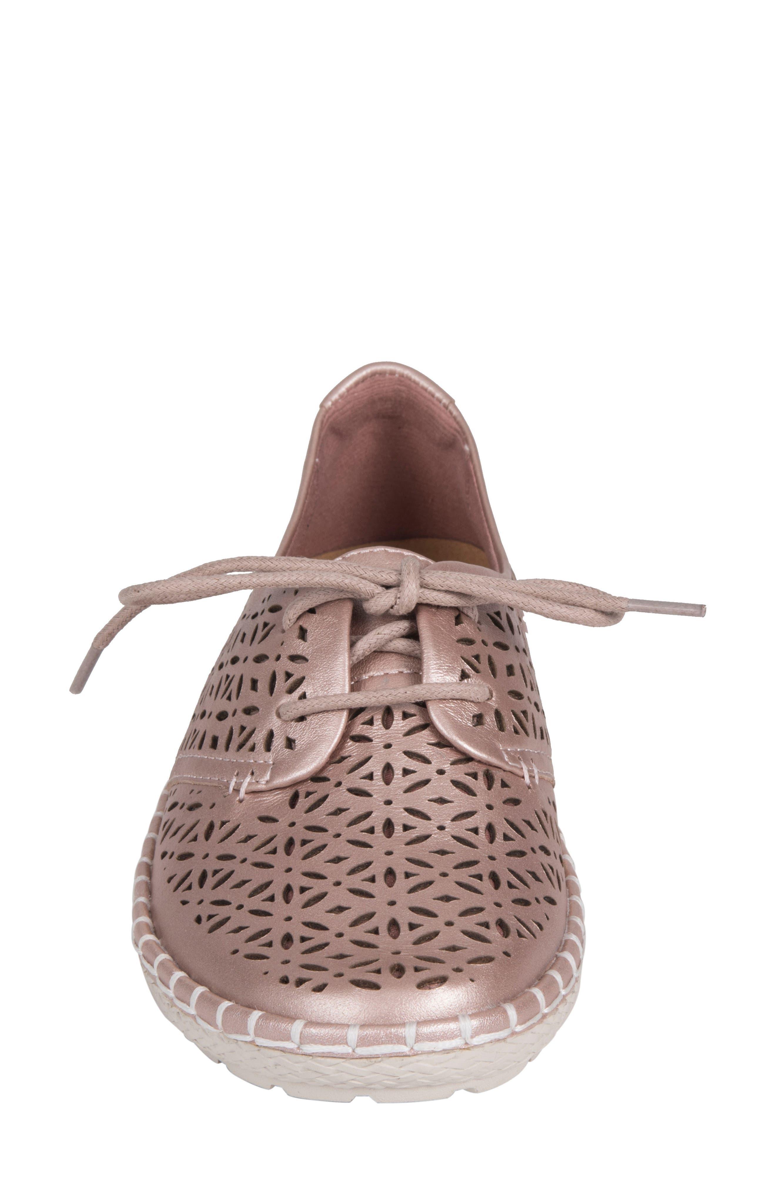 Pax Sneaker,                             Alternate thumbnail 4, color,                             BLUSH LEATHER