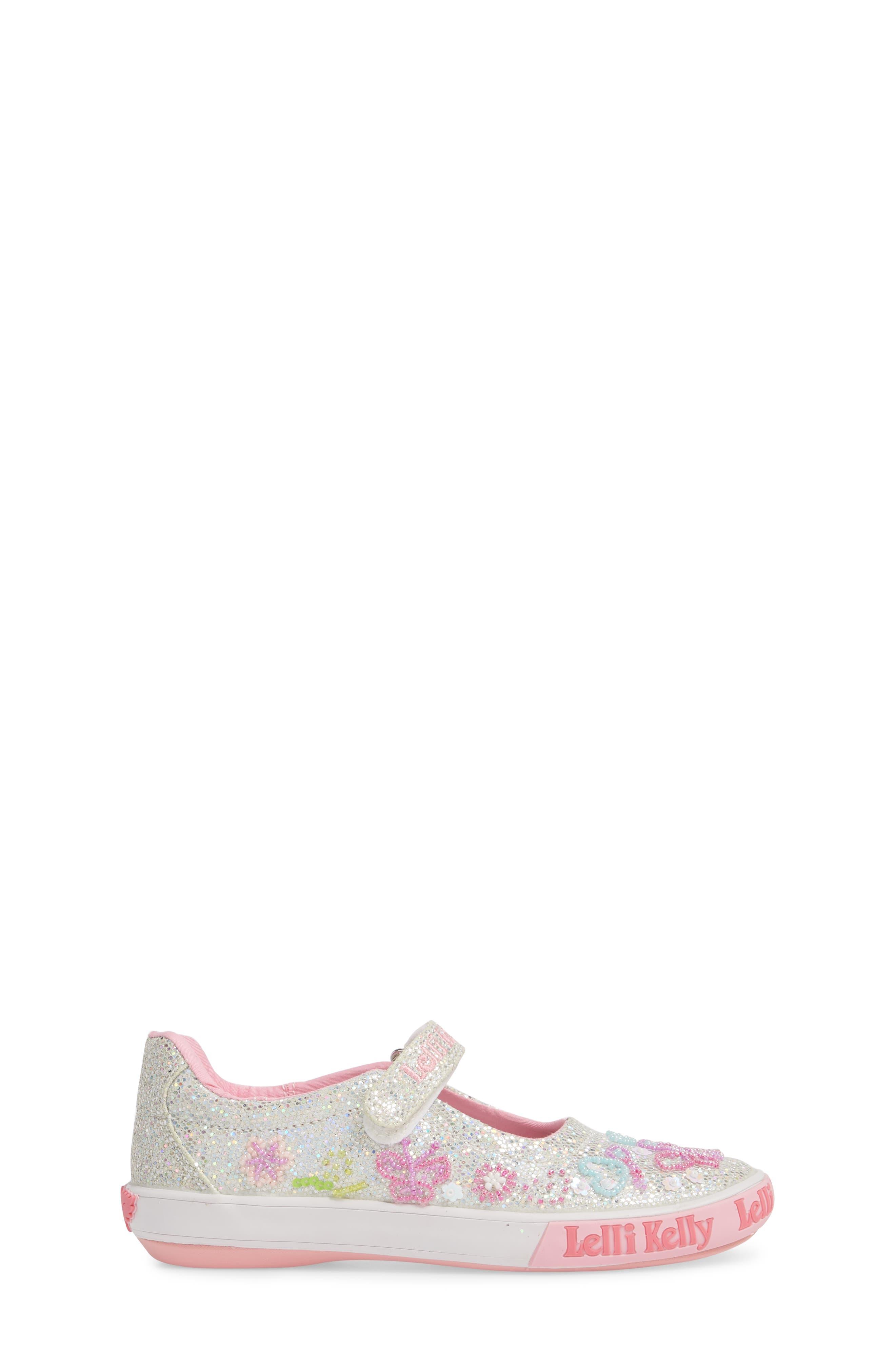 Beaded Mary Jane Sneaker,                             Alternate thumbnail 3, color,                             040