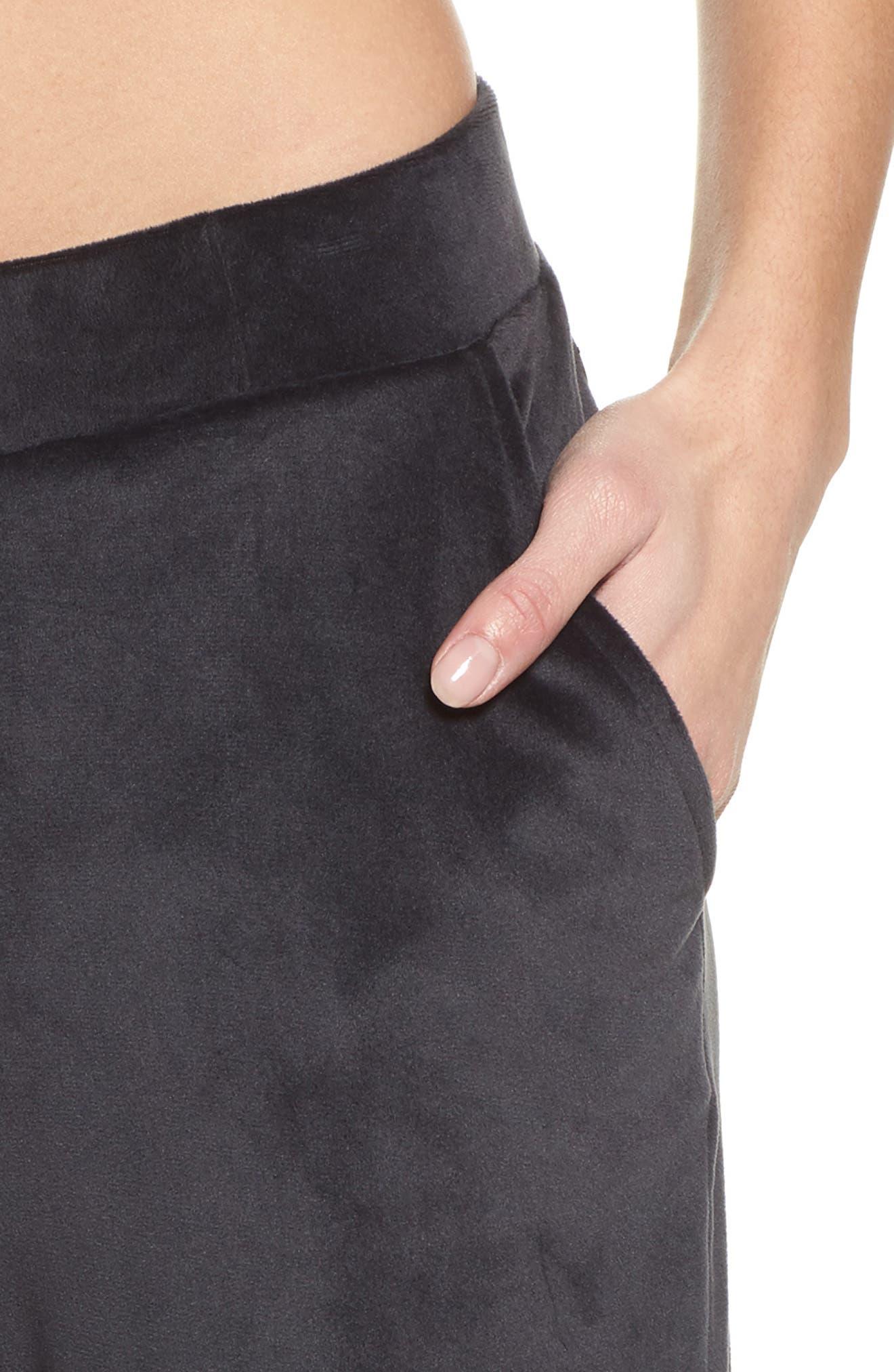 Cha Cha Spa Pants,                             Alternate thumbnail 4, color,                             001