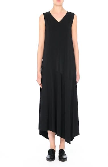 Cultivated Crepe Jersey Asymmetrical Dress, video thumbnail