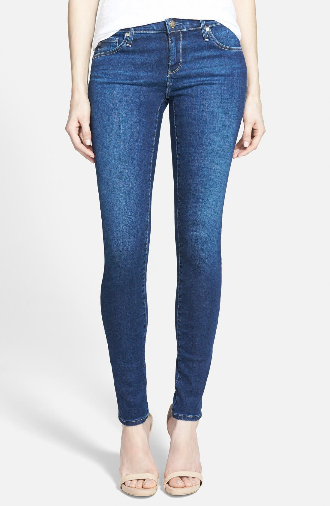 'The Legging' Super Skinny Jeans,                             Main thumbnail 11, color,