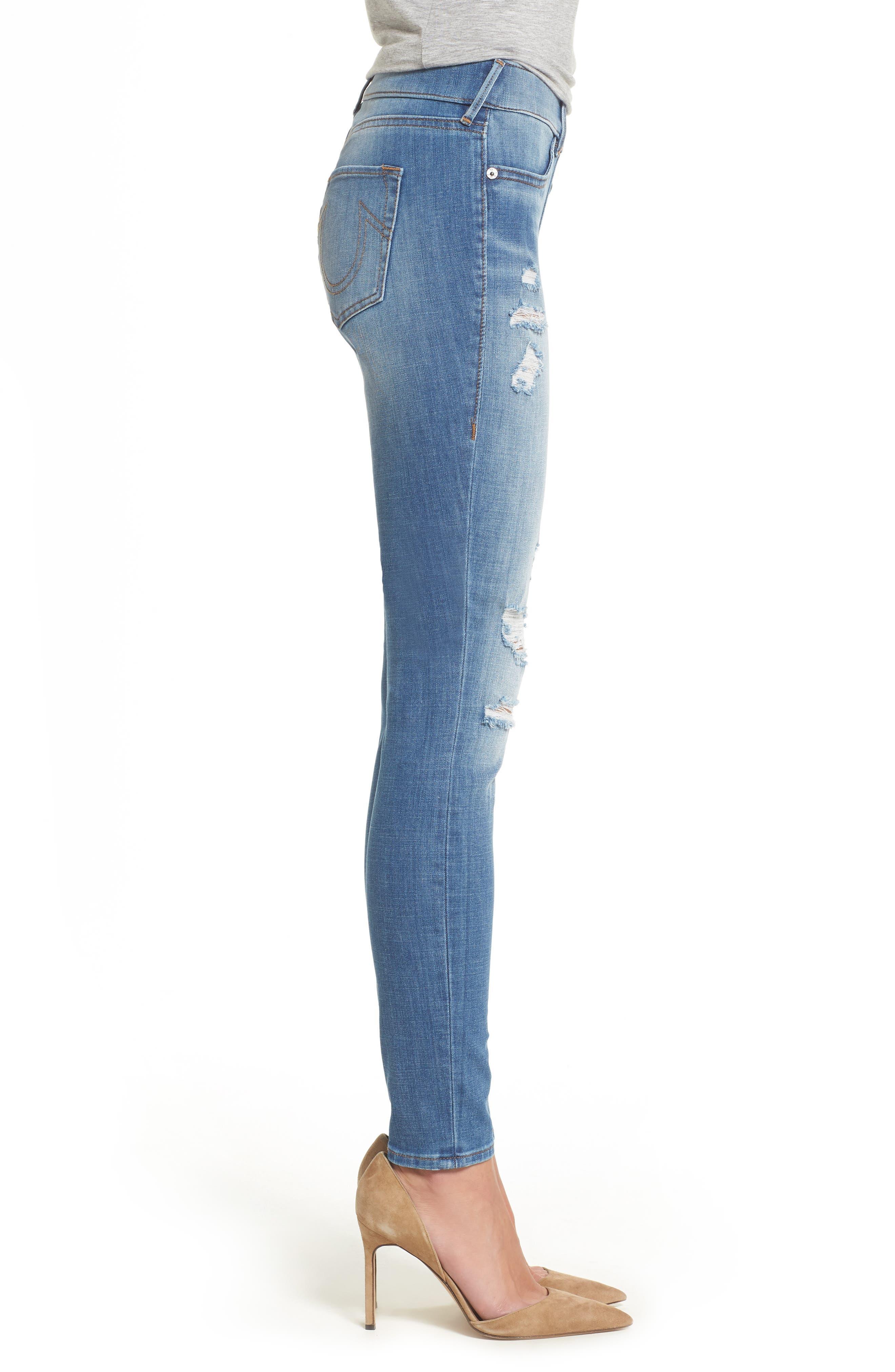Jennie Runway Curvy Skinny Jeans,                             Alternate thumbnail 3, color,                             400