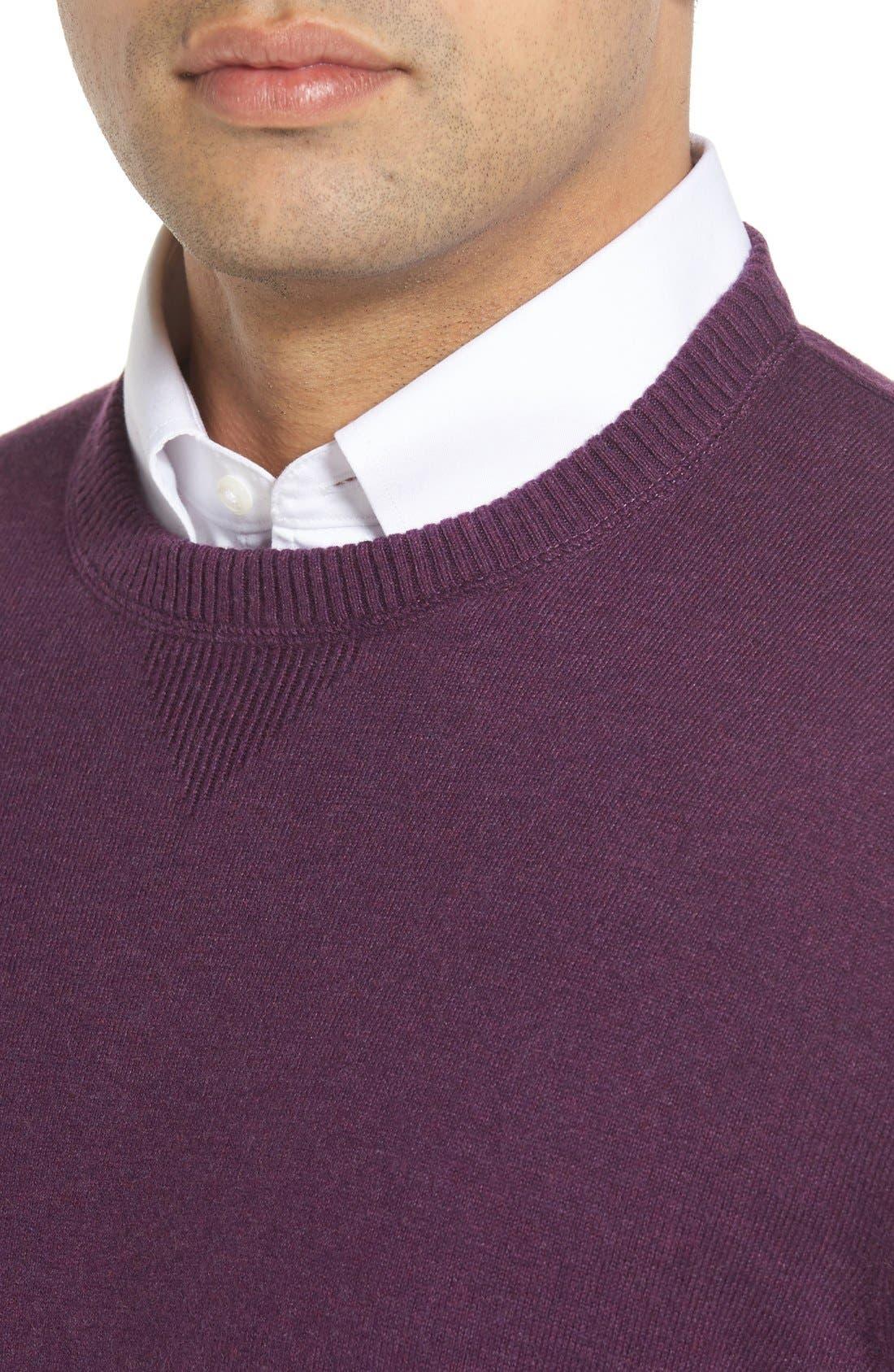 'Jersey Sport' Cotton Blend Crewneck Sweater,                             Alternate thumbnail 30, color,