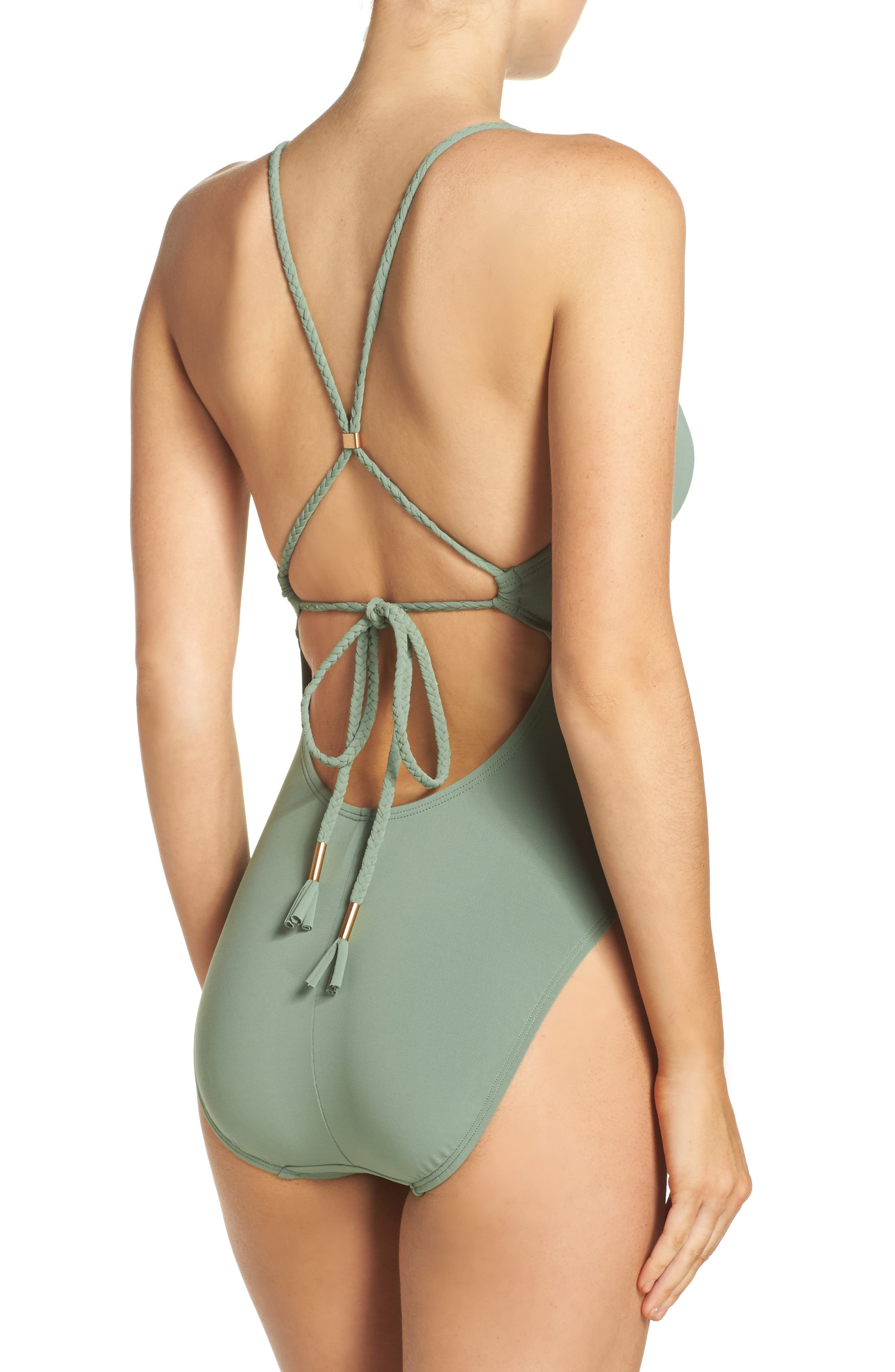 Ava One-Piece Swimsuit,                             Alternate thumbnail 6, color,