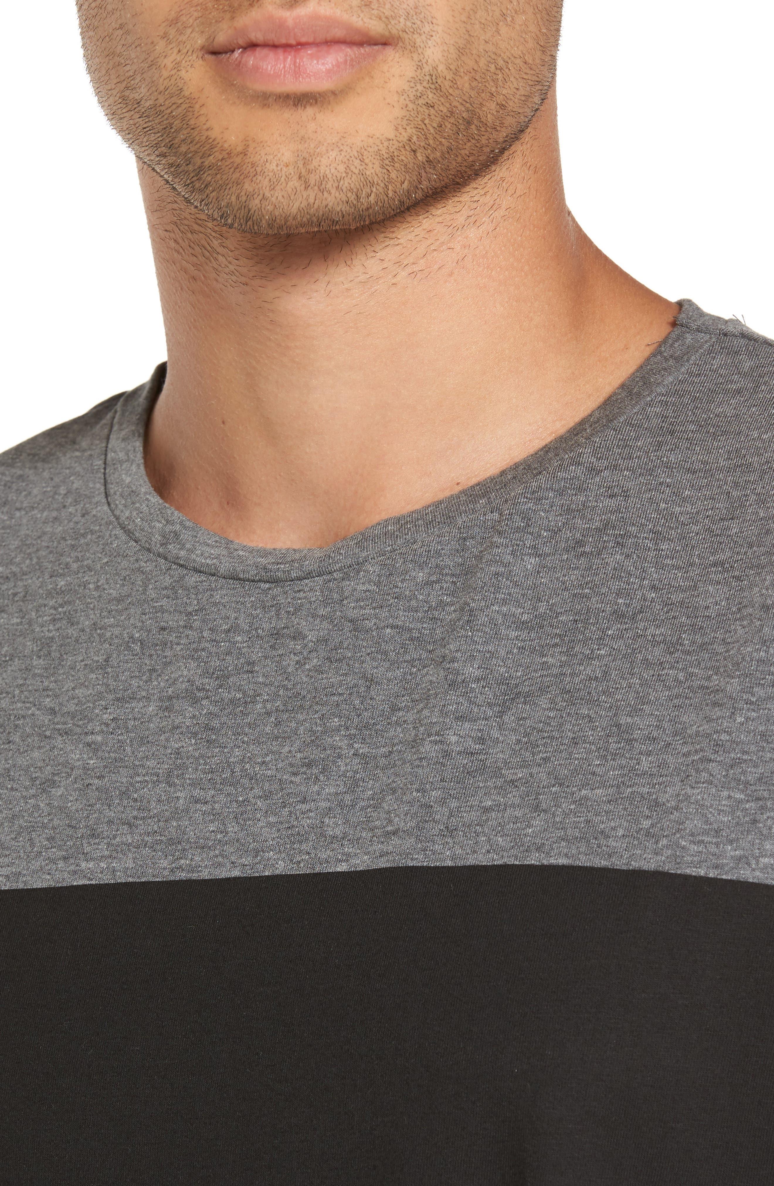 Russ Stripe T-Shirt,                             Alternate thumbnail 4, color,                             020