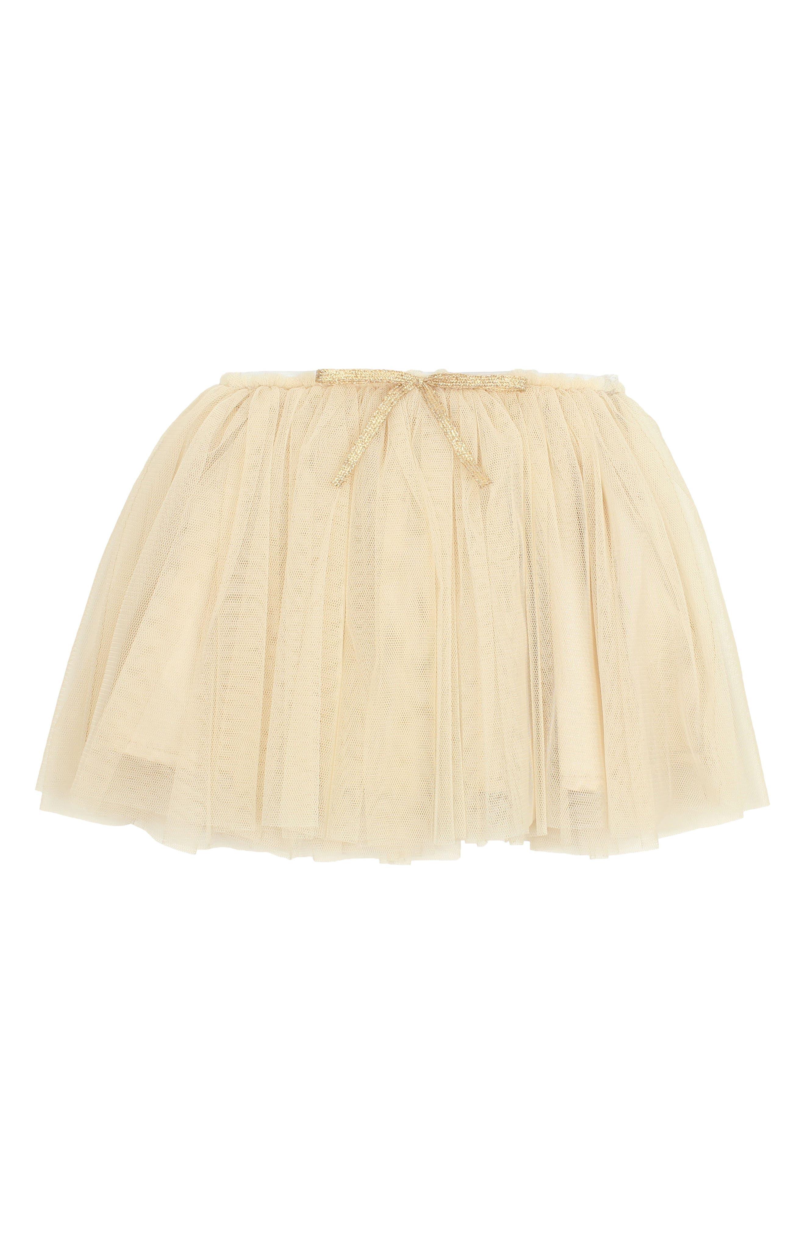 Tutu Skirt,                         Main,                         color, GOLD
