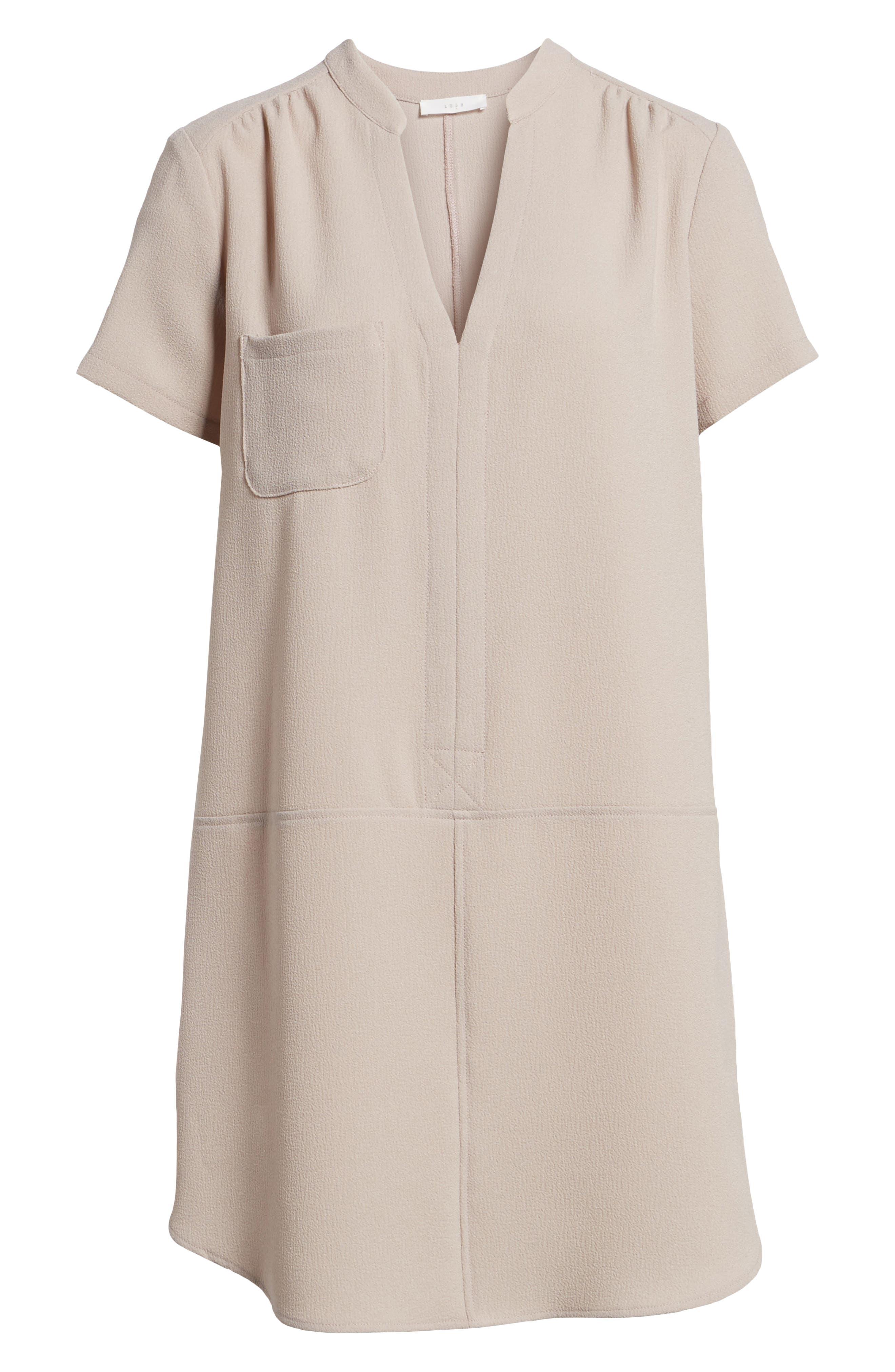 Hailey Crepe Dress,                             Alternate thumbnail 148, color,