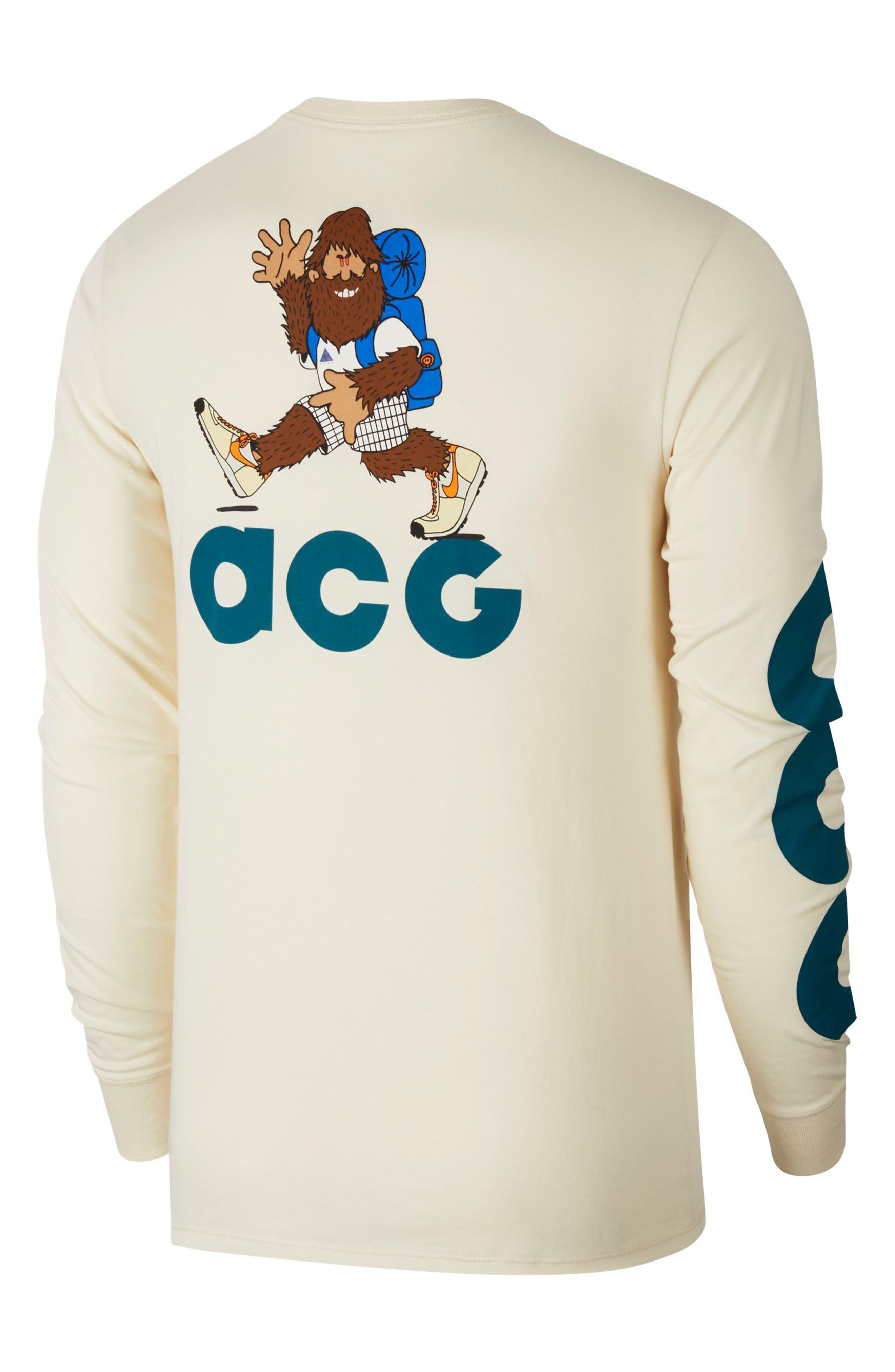 NSW ACG Graphic T-Shirt,                             Alternate thumbnail 2, color,                             LIGHT CREAM/ GEODE TEAL