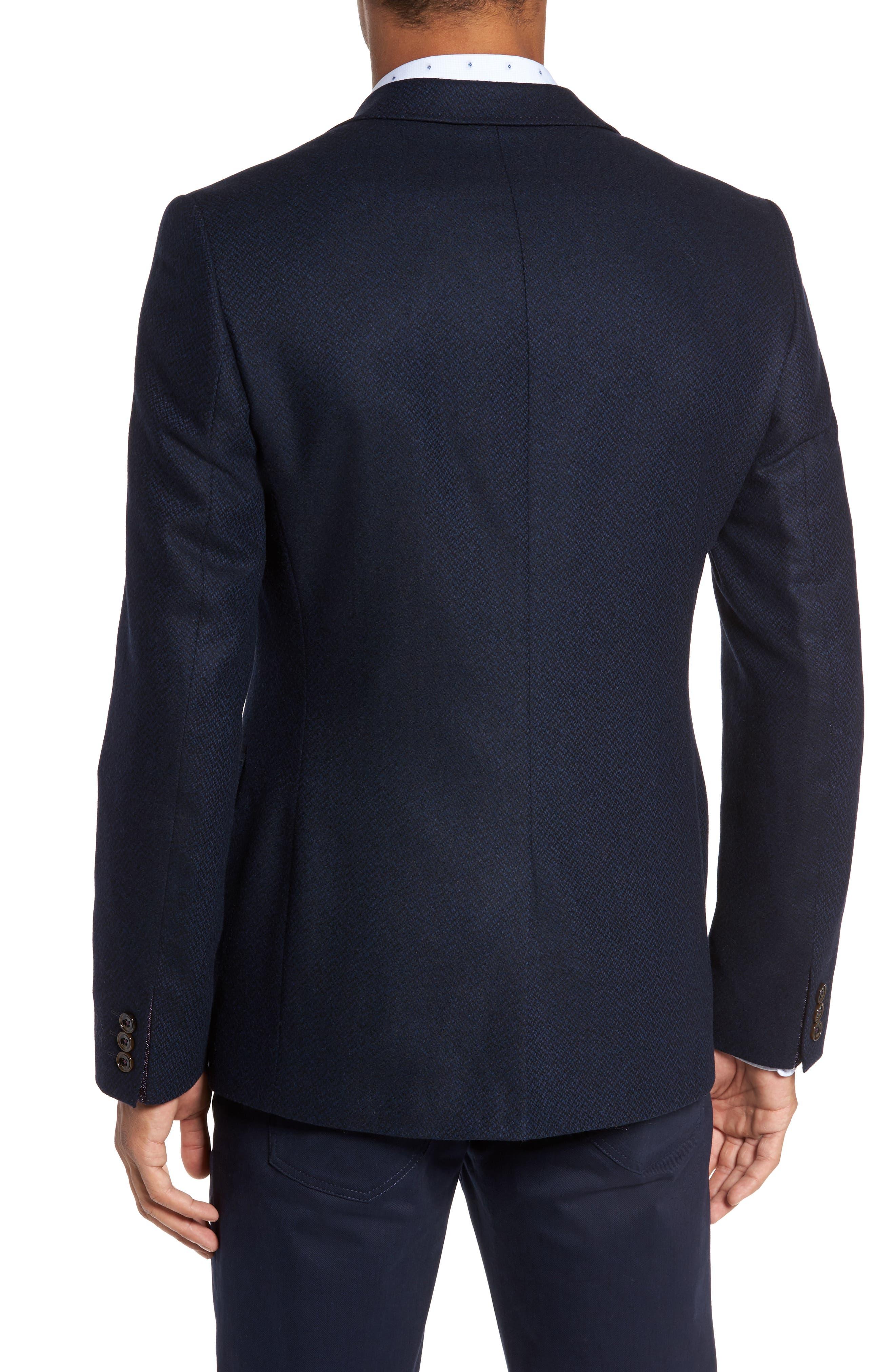 Modern Slim Fit Herringbone Blazer,                             Alternate thumbnail 2, color,                             410