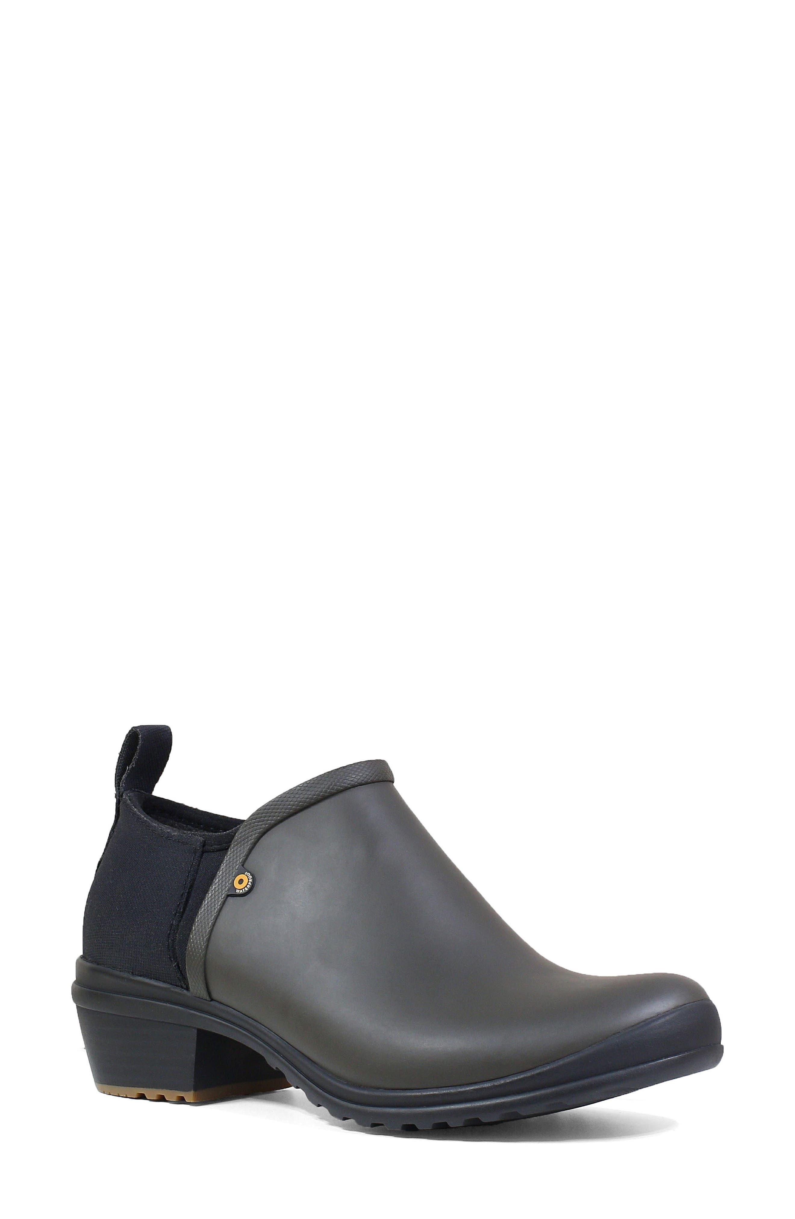 Bogs Vista Rain Ankle Waterproof Boot, Green