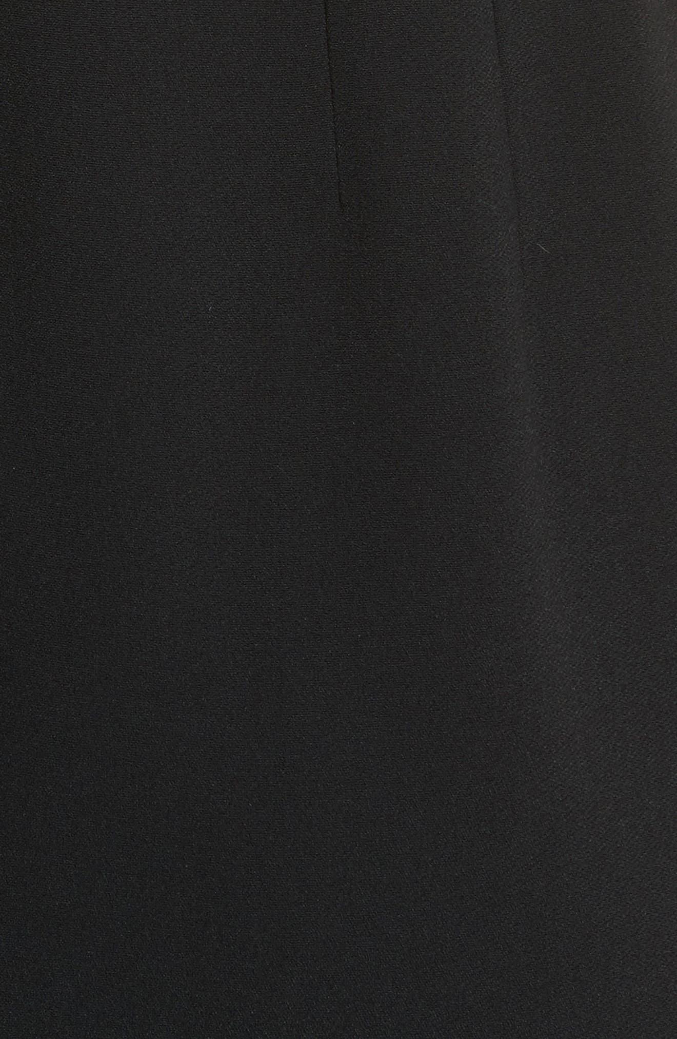 Stretch Cady Sheath Dress,                             Alternate thumbnail 11, color,