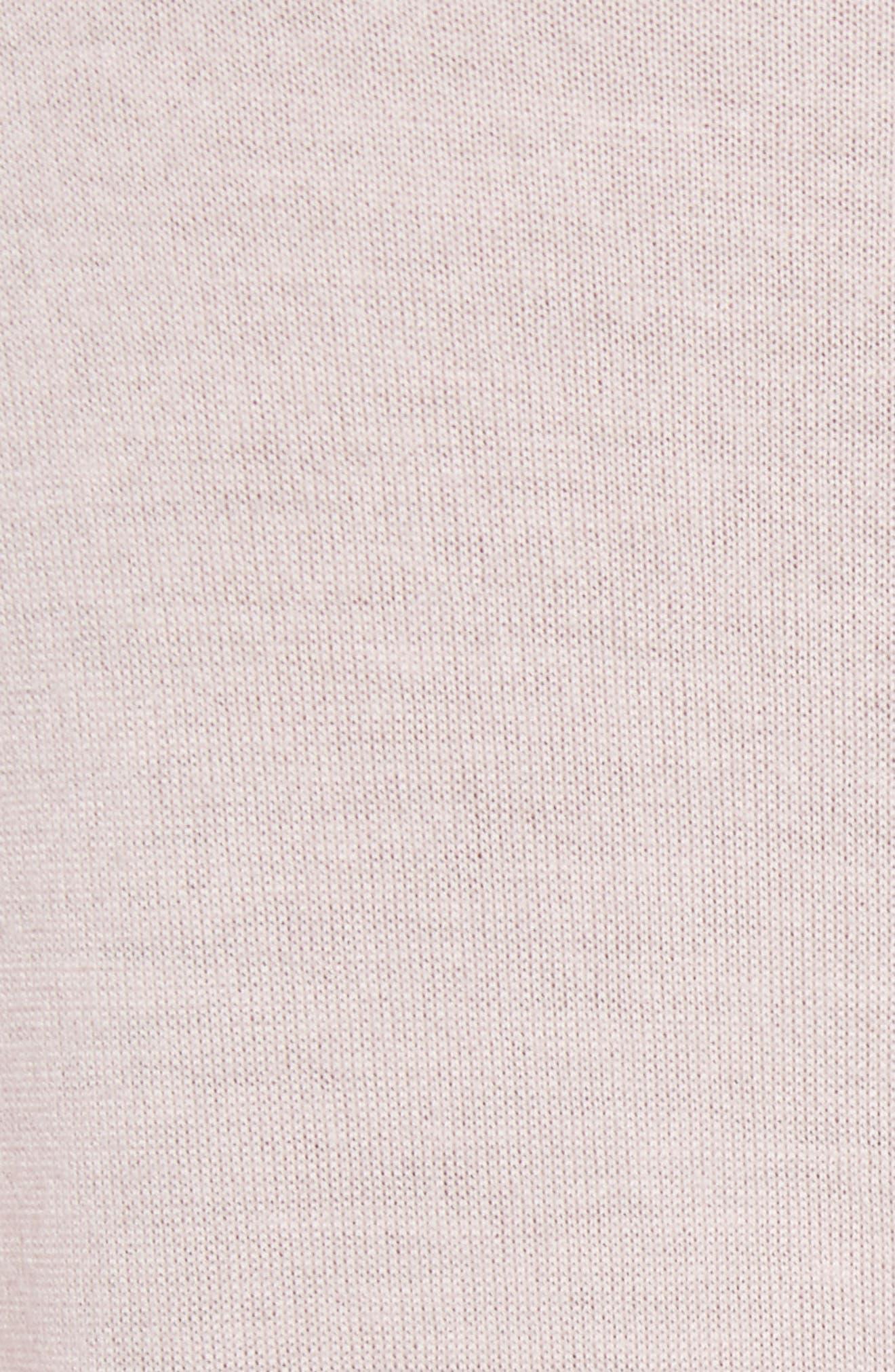 True Crewneck Wool Sweater,                             Alternate thumbnail 5, color,                             650