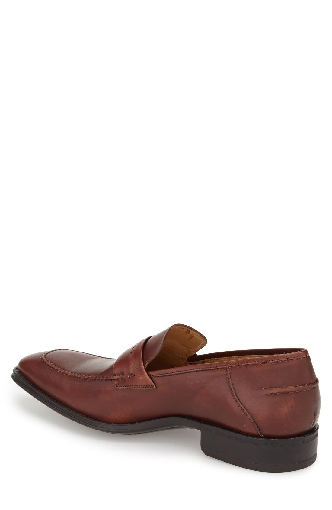 'Trento' Penny Loafer,                             Alternate thumbnail 4, color,