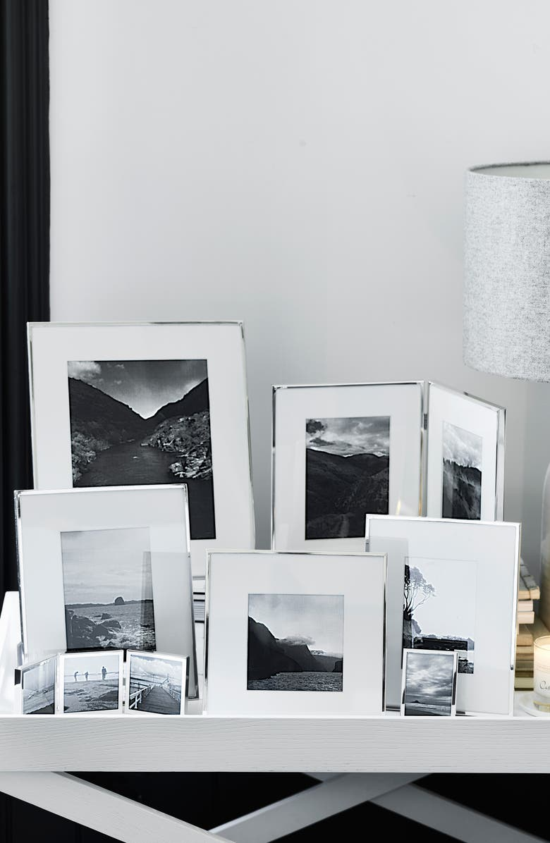 The White Company Fine Silver Plated Picture Frame | Nordstrom