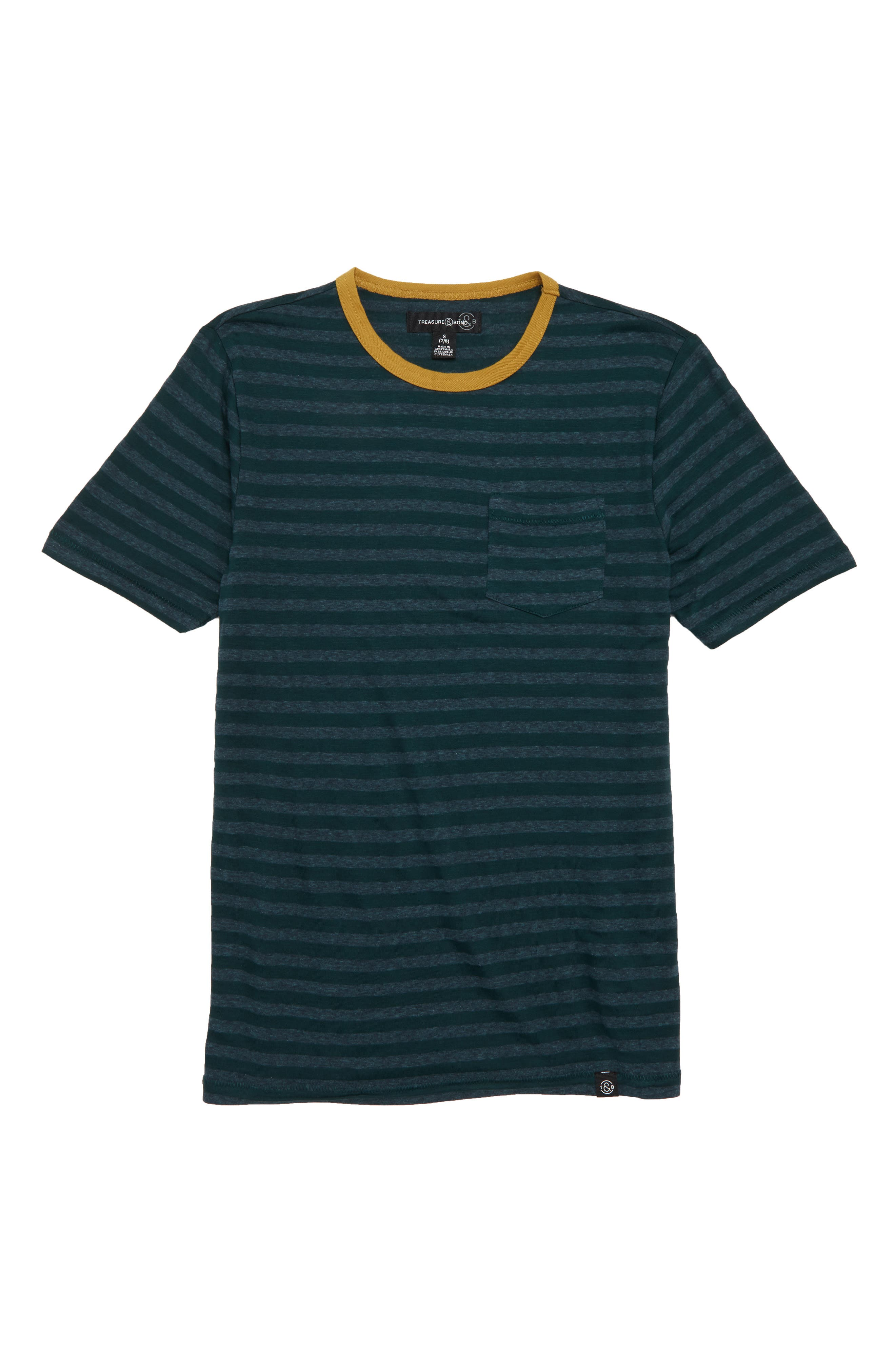 Stripe Pocket T-Shirt,                         Main,                         color, 301