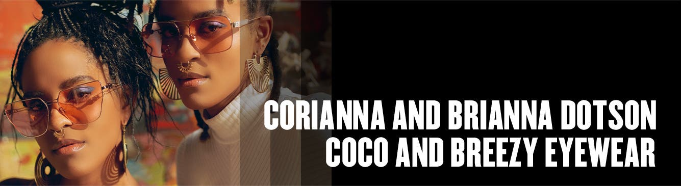Coco and Breezy founders Corianna and Brianna Dotson.