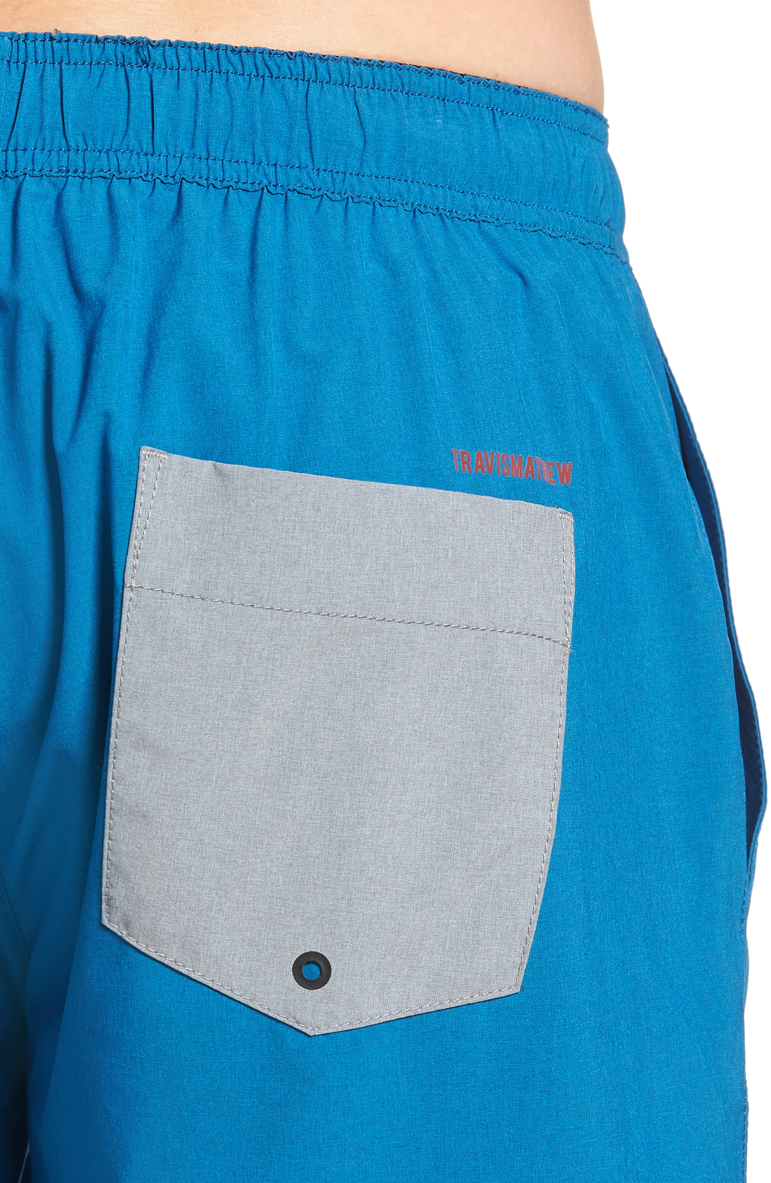 The Pace Performance Shorts,                             Alternate thumbnail 4, color,                             HEATHER FRENCH BLUE