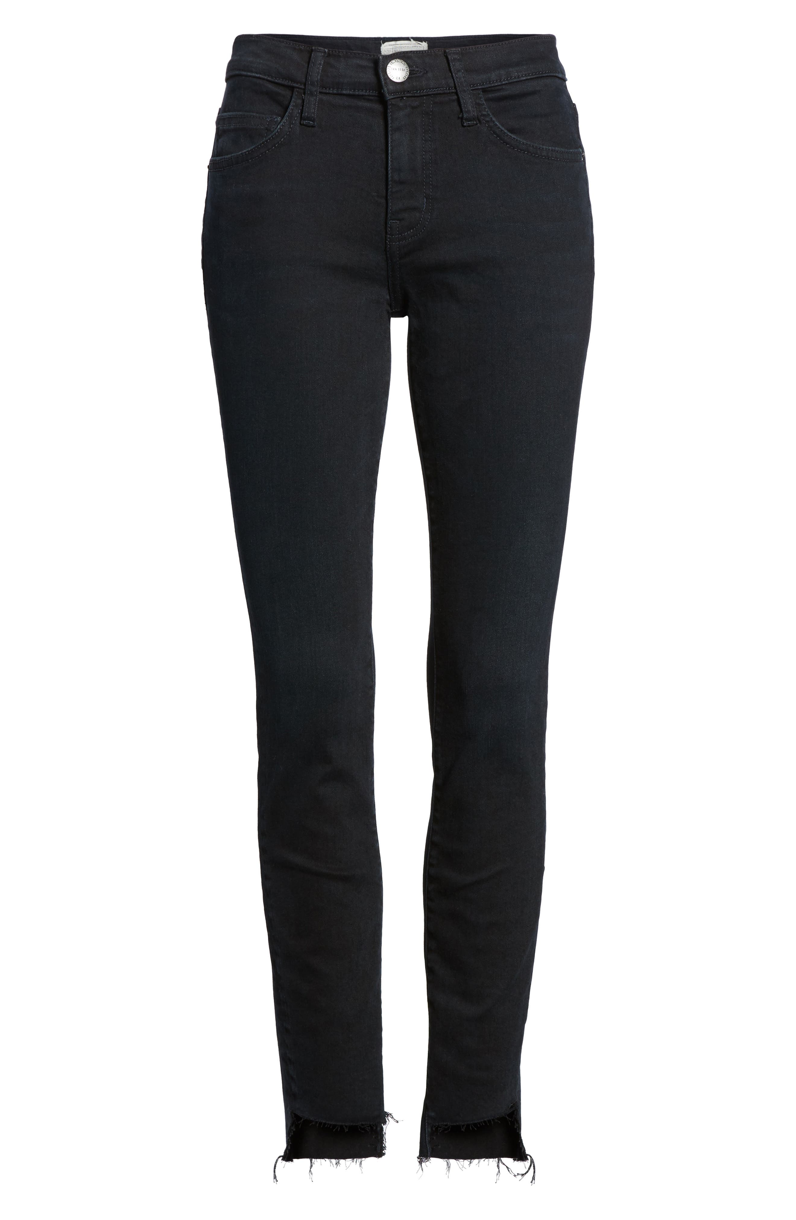 The High Waist Stiletto Ankle Skinny Jeans,                             Alternate thumbnail 6, color,                             418