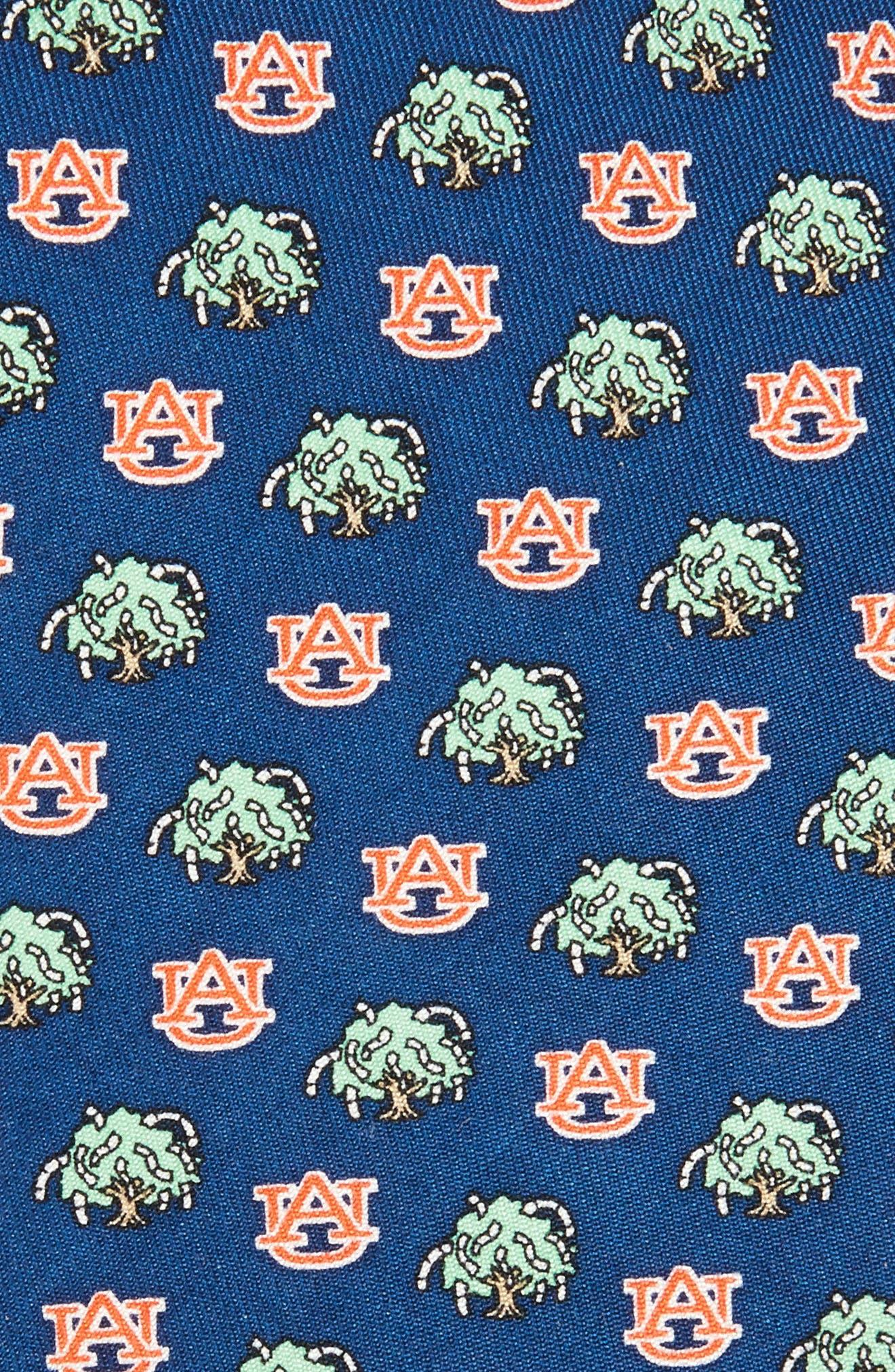 Auburn Tigers Silk Tie,                             Alternate thumbnail 2, color,