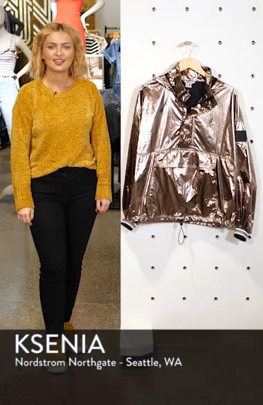 Metallic Half Zip Pullover, sales video thumbnail
