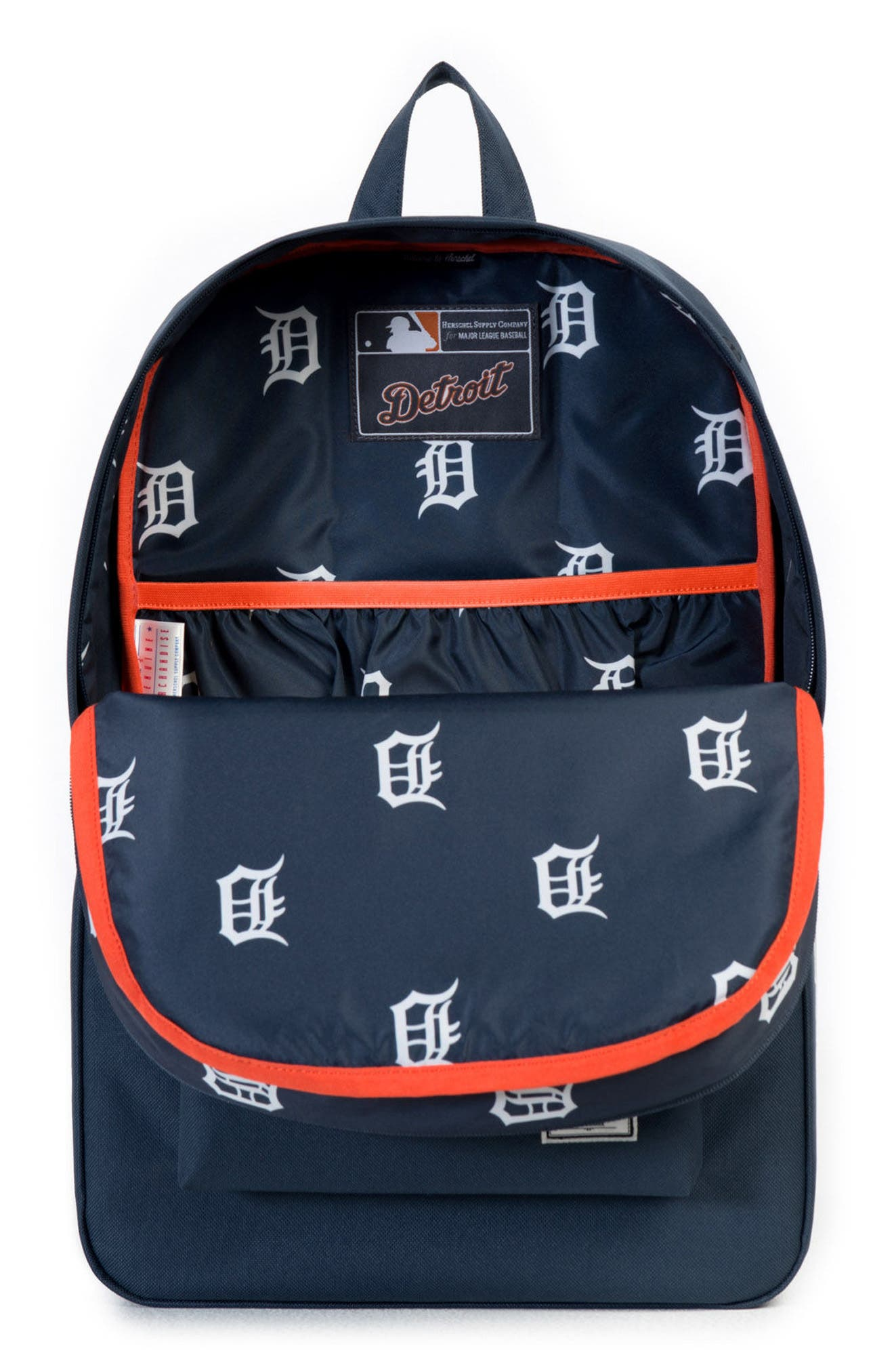 Heritage Detroit Tigers Backpack,                             Alternate thumbnail 3, color,                             499