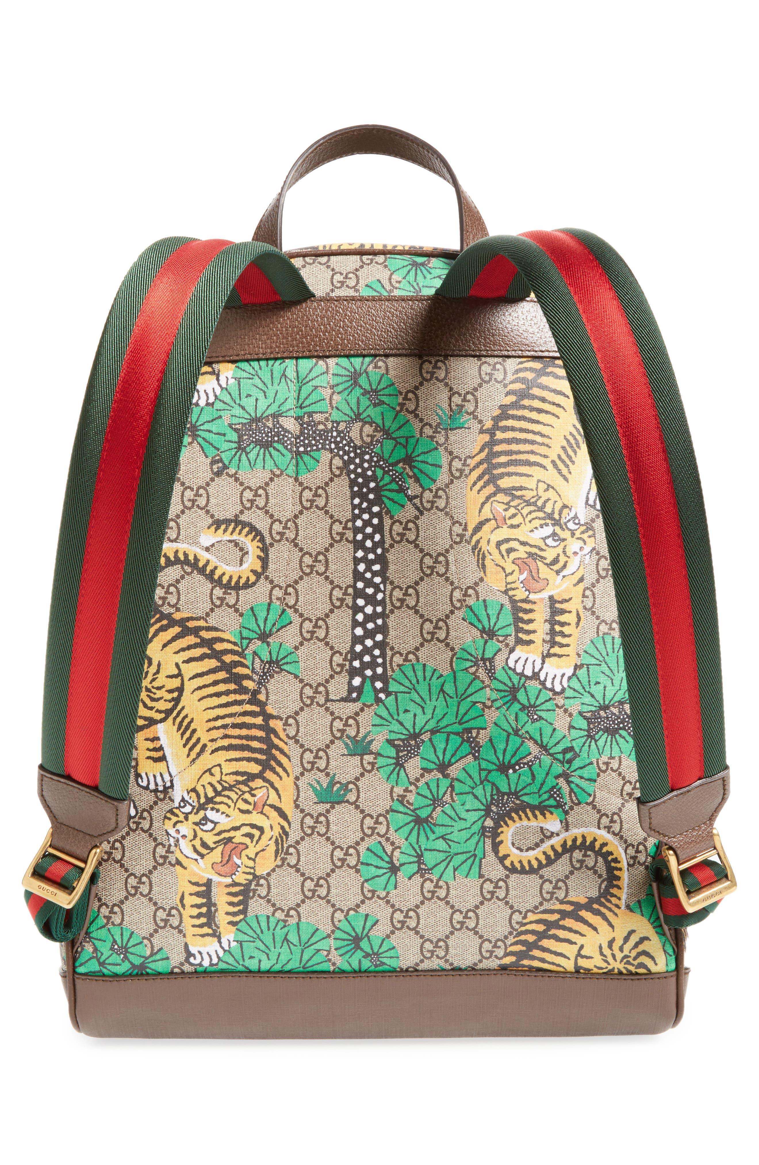 Tiger Cub Supreme Canvas Backpack,                             Alternate thumbnail 3, color,                             250
