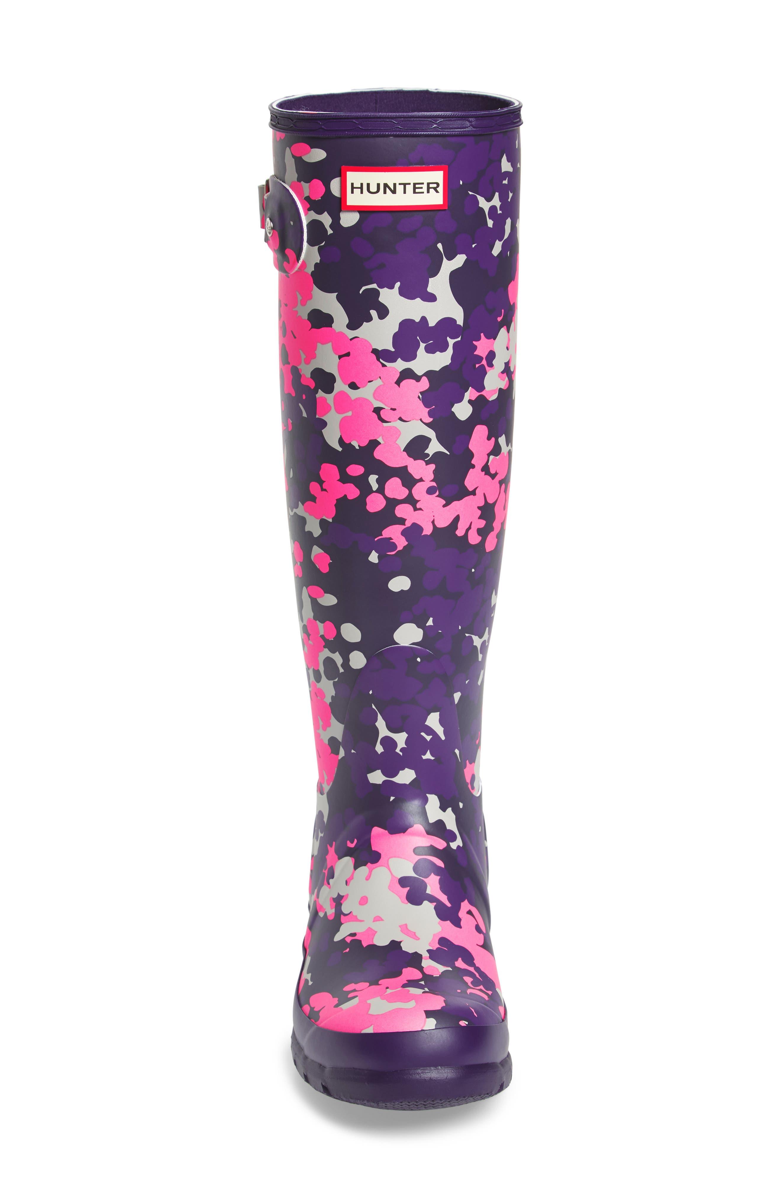 Original Tall - Flectarn Rain Boot,                             Alternate thumbnail 4, color,                             652