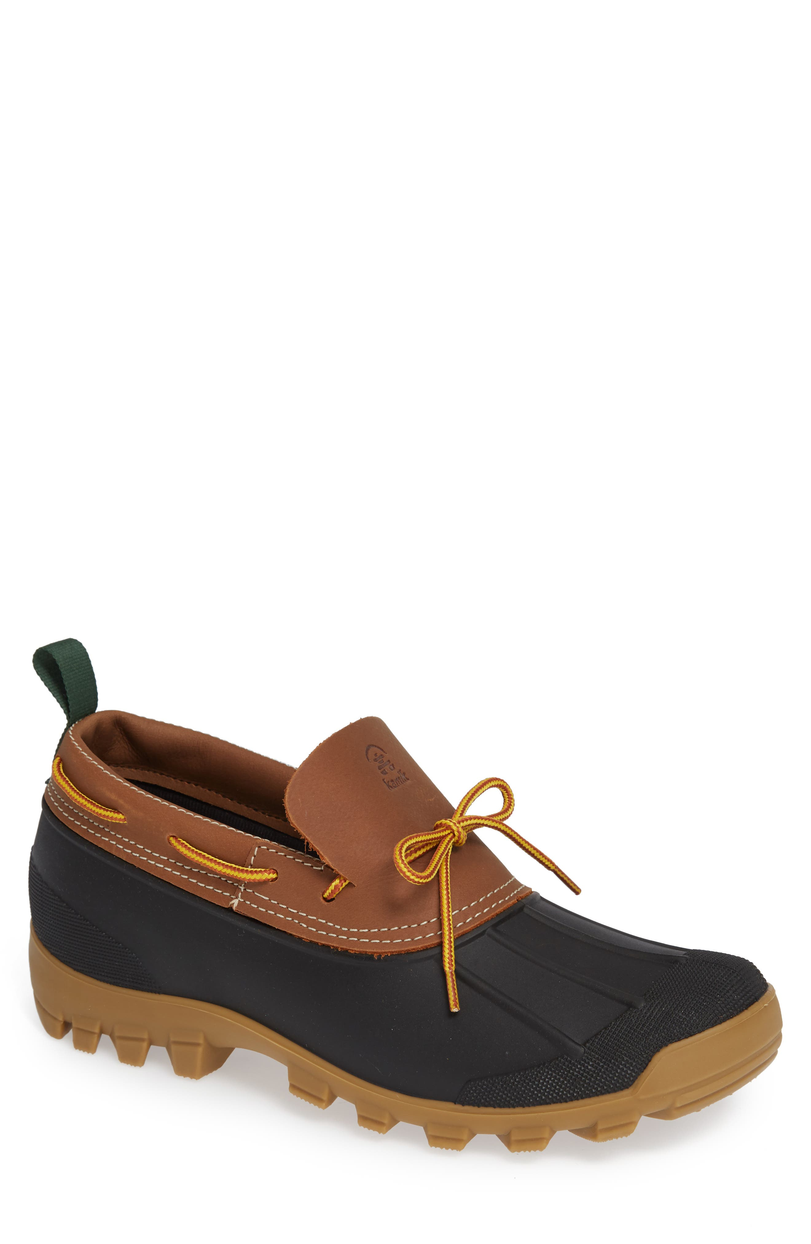 Yukon Short Waterproof Boot, Main, color, TAN LEATHER