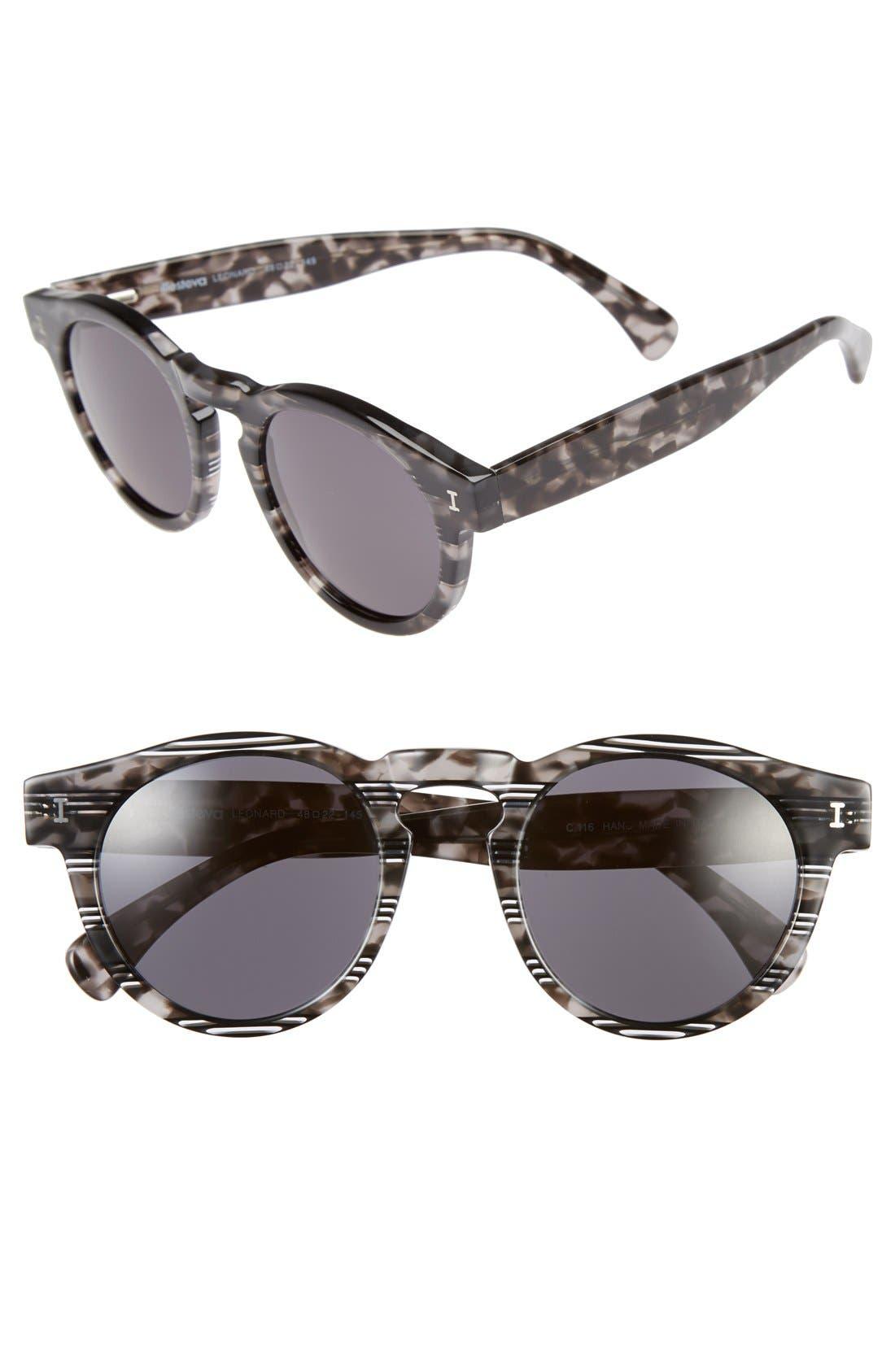 'Leonard' 47mm Sunglasses,                             Main thumbnail 6, color,