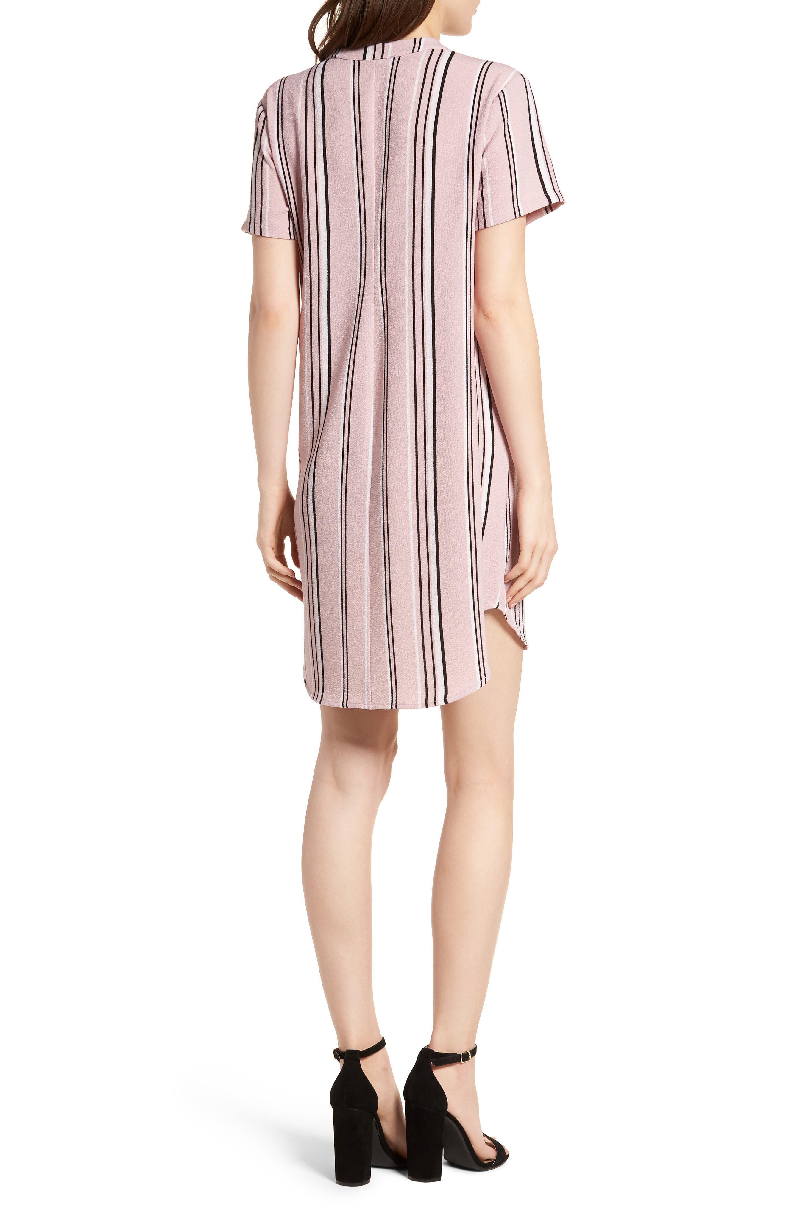 Hailey Crepe Shift Dress,                             Alternate thumbnail 2, color,                             651