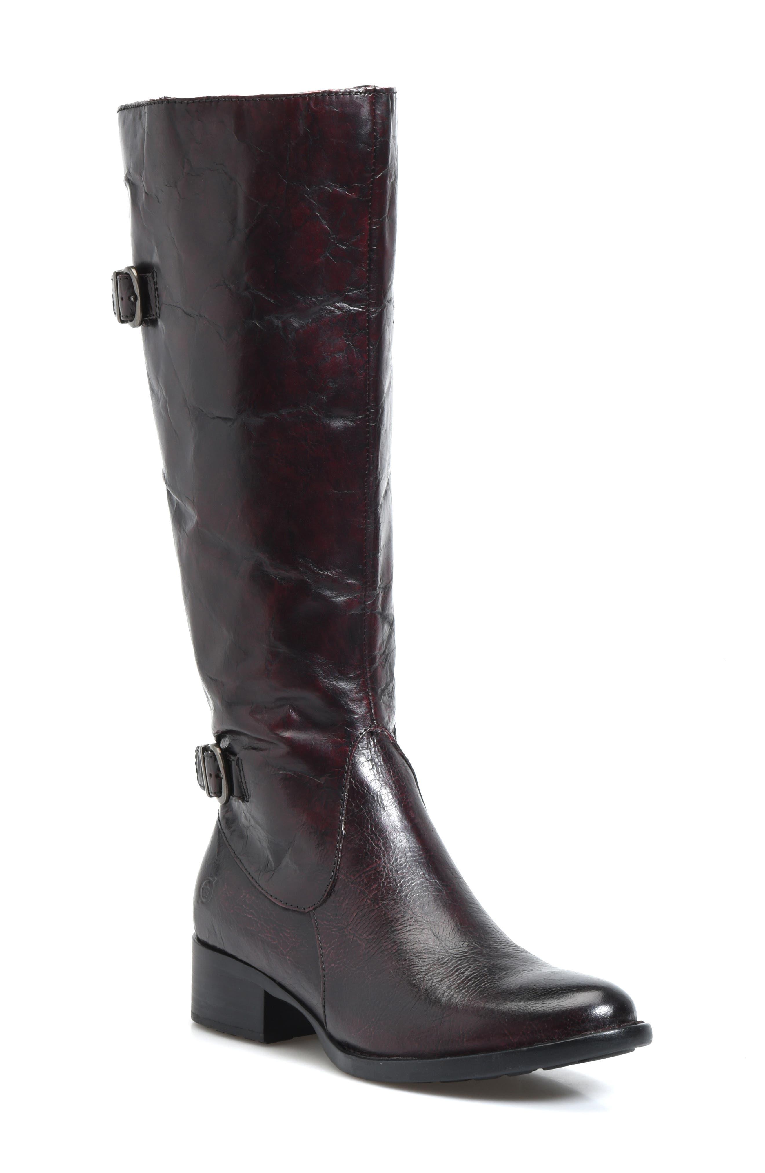 B?rn Gibb Knee High Riding Boot, Burgundy