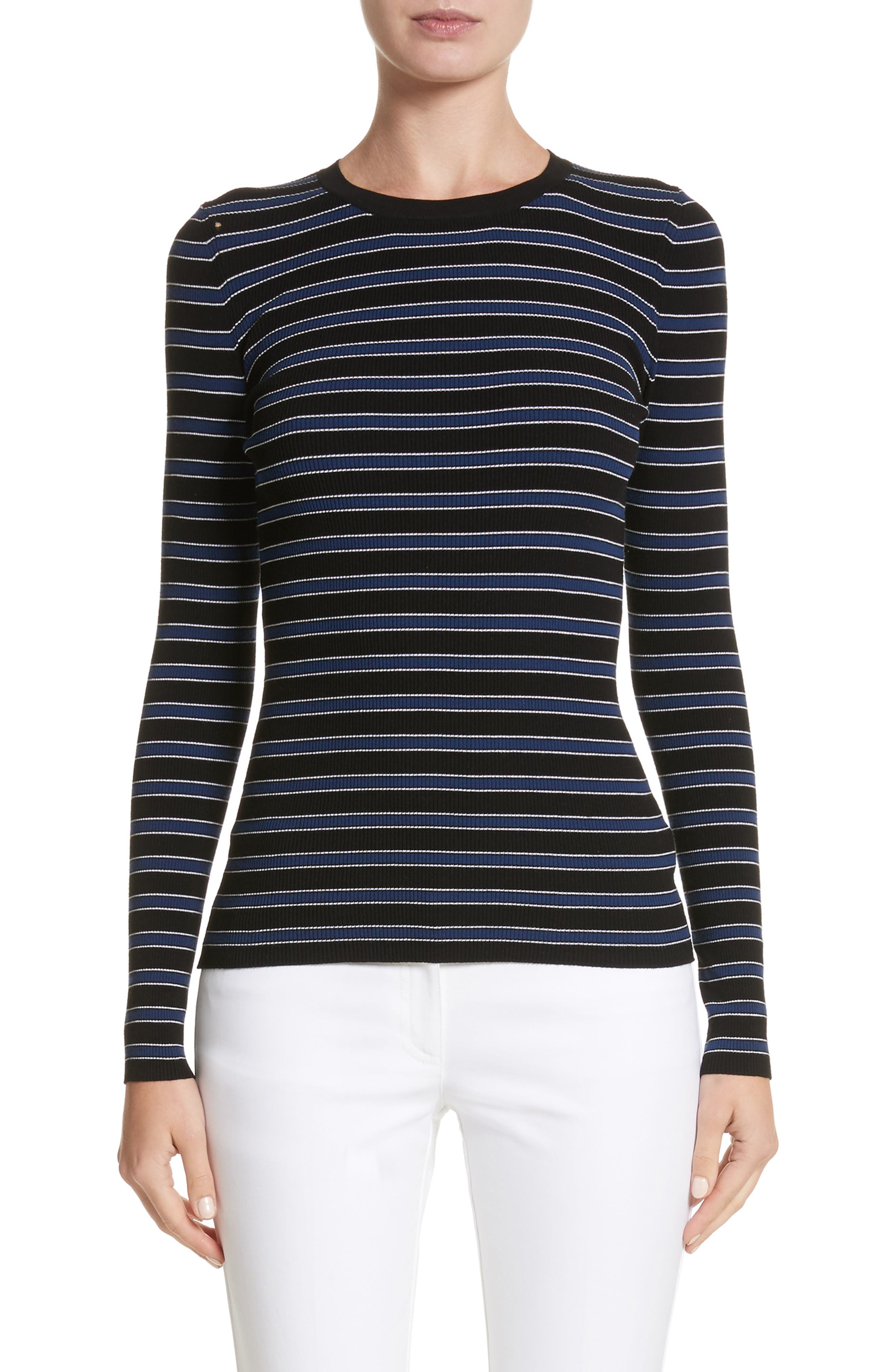 Stripe Top,                             Main thumbnail 1, color,