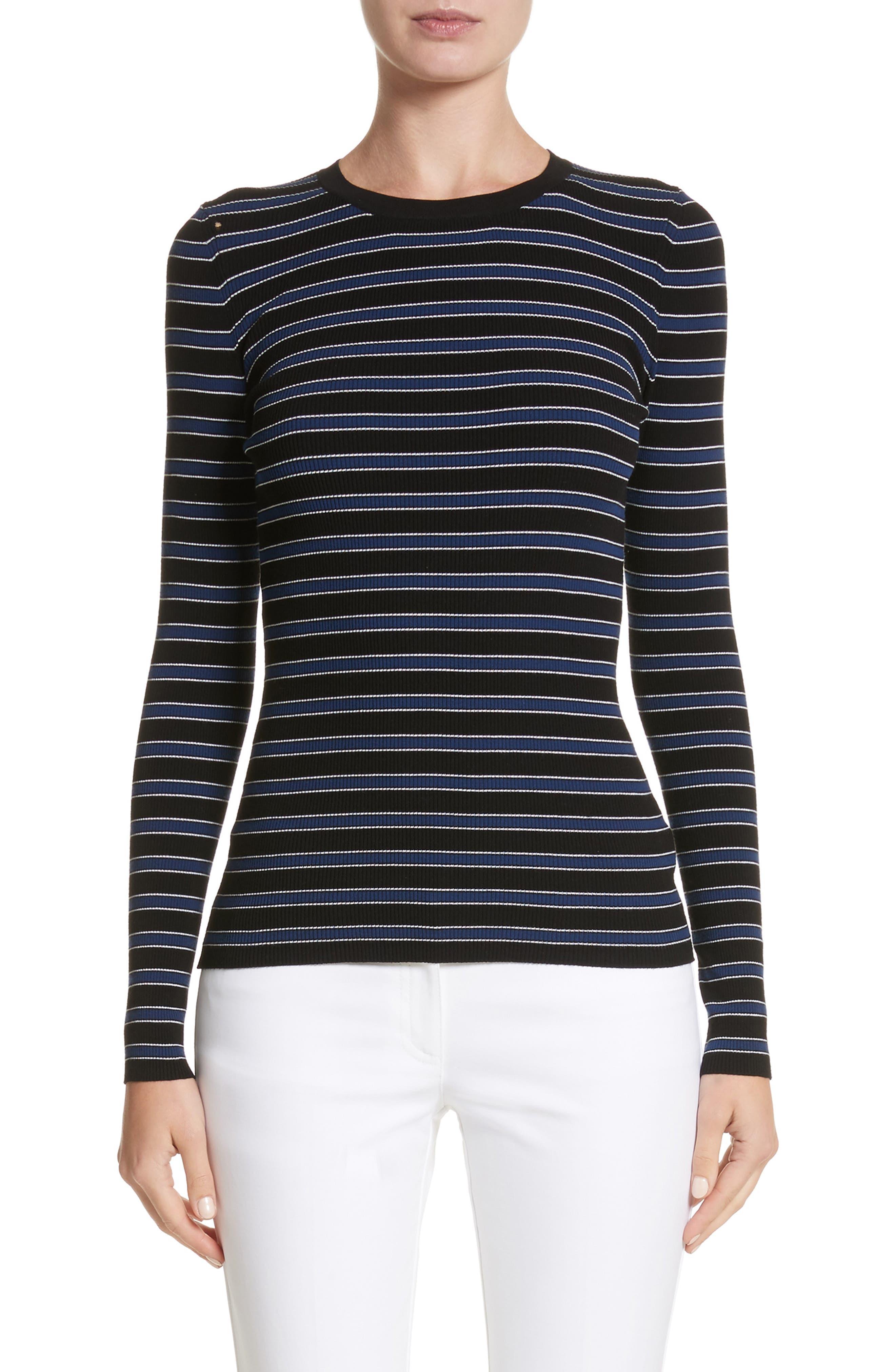Stripe Top,                         Main,                         color, 489
