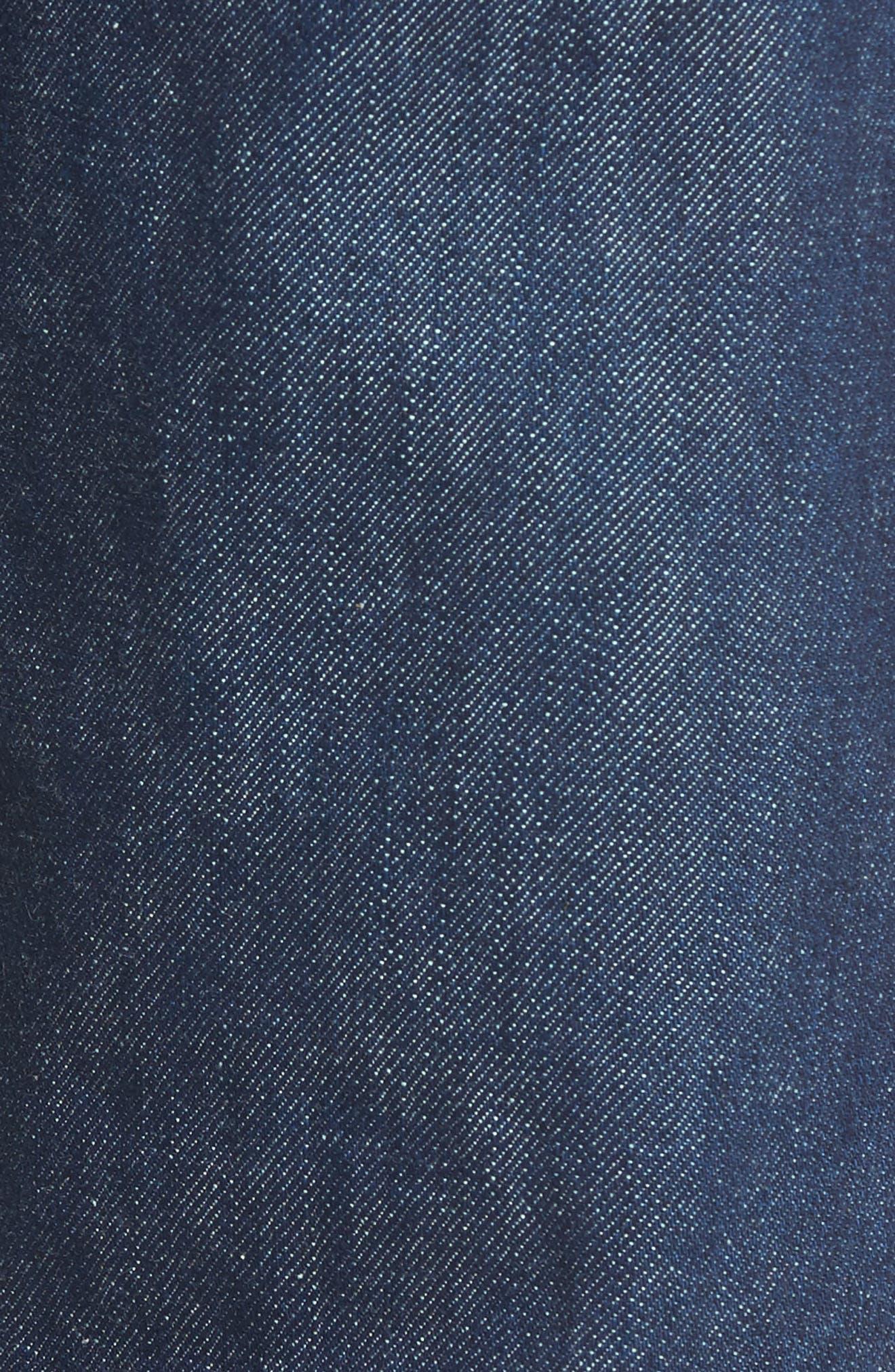 Fit 2 Slim Fit Selvedge Jeans,                             Alternate thumbnail 5, color,                             427
