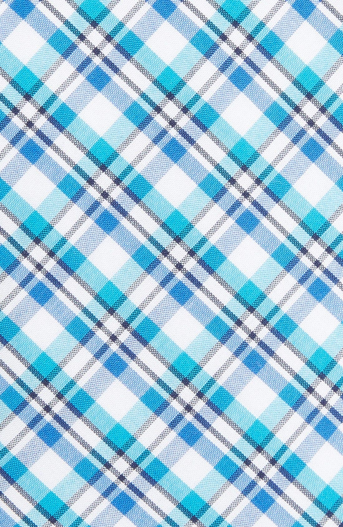 'Boomer' Plaid Cotton Tie,                             Alternate thumbnail 6, color,