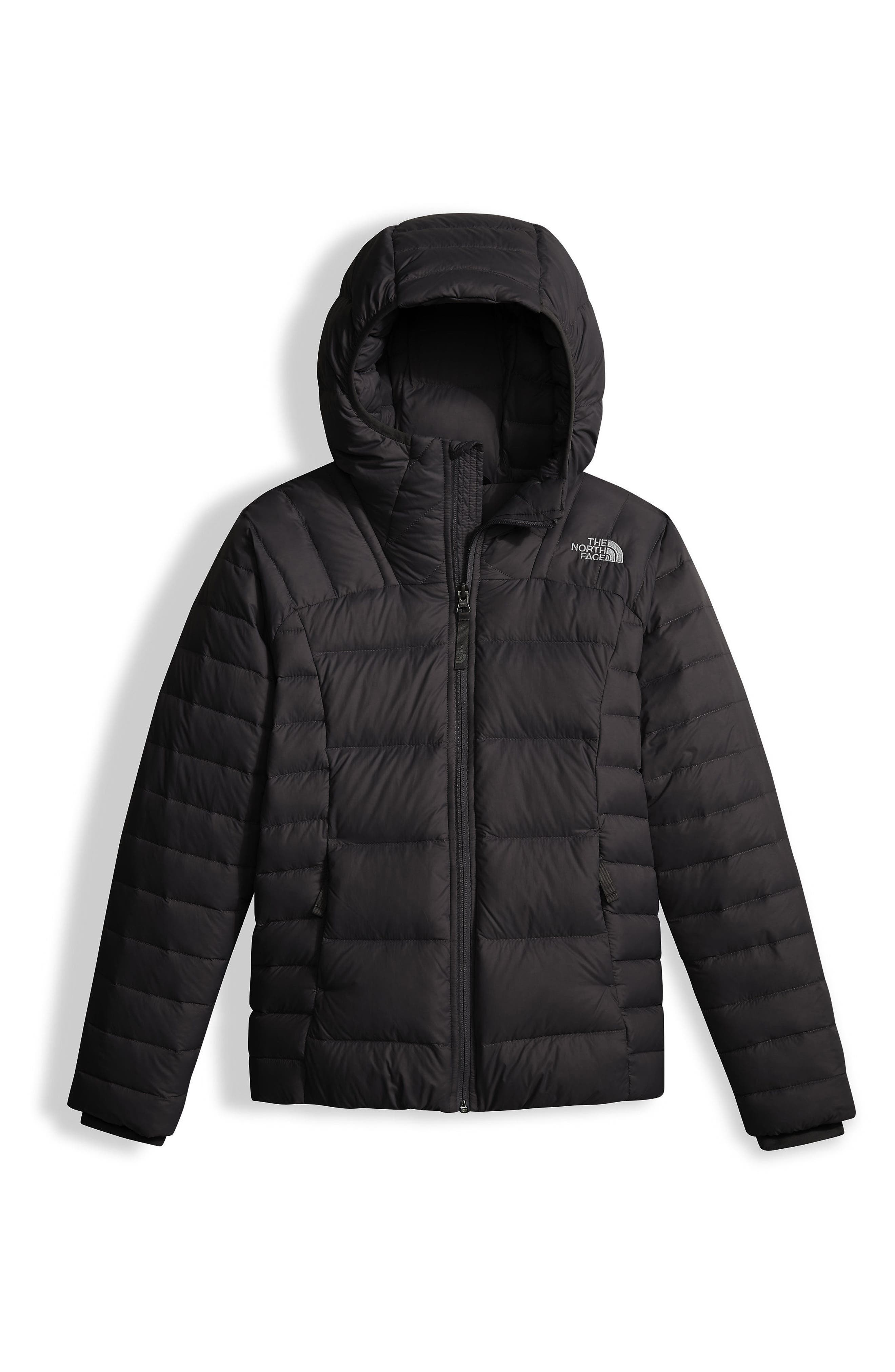 Double Down Water Resistant 550-Fill Power Down Insulated Jacket,                         Main,                         color, 001
